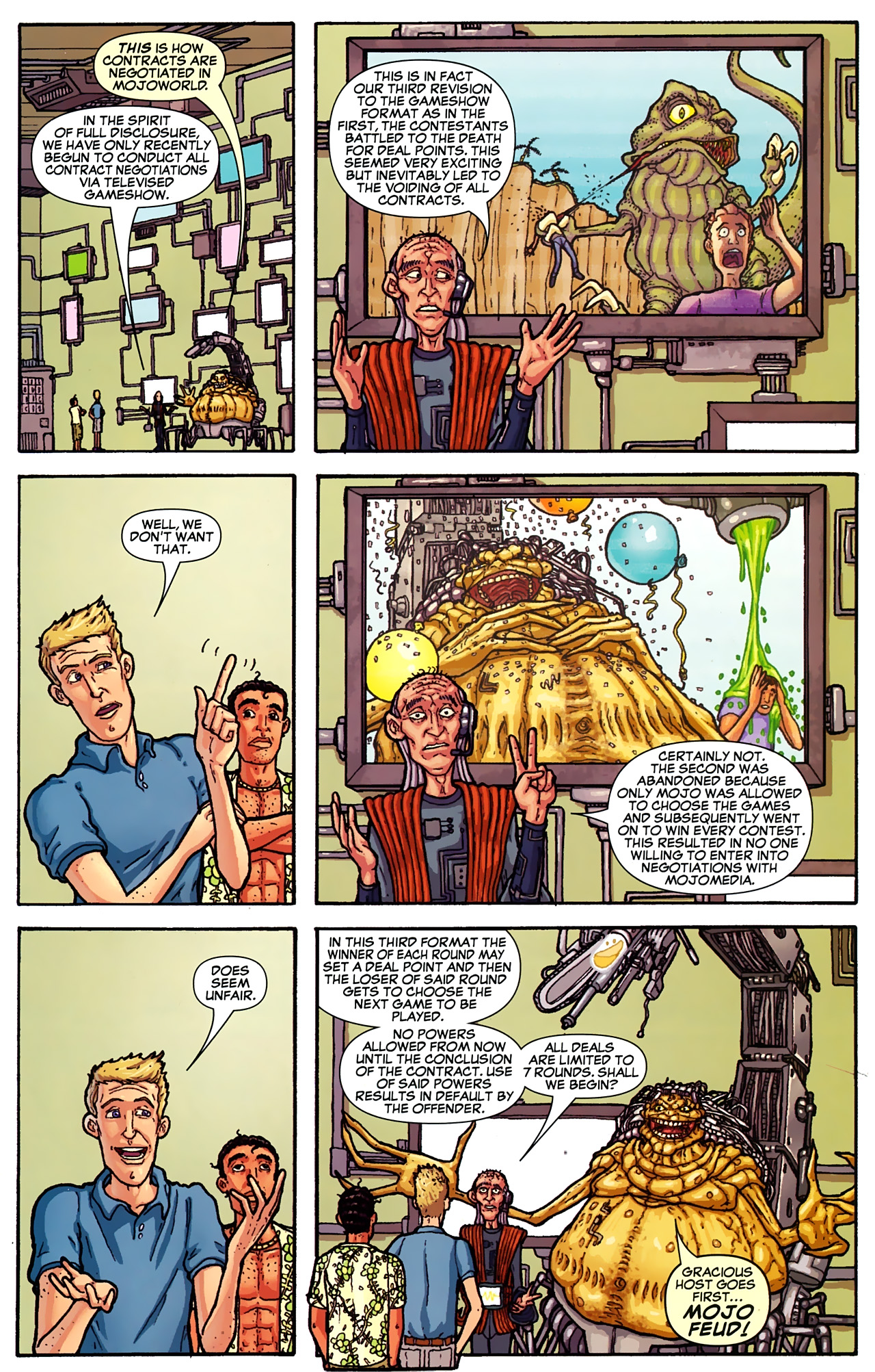 Read online Astonishing Tales (2009) comic -  Issue #2 - 28
