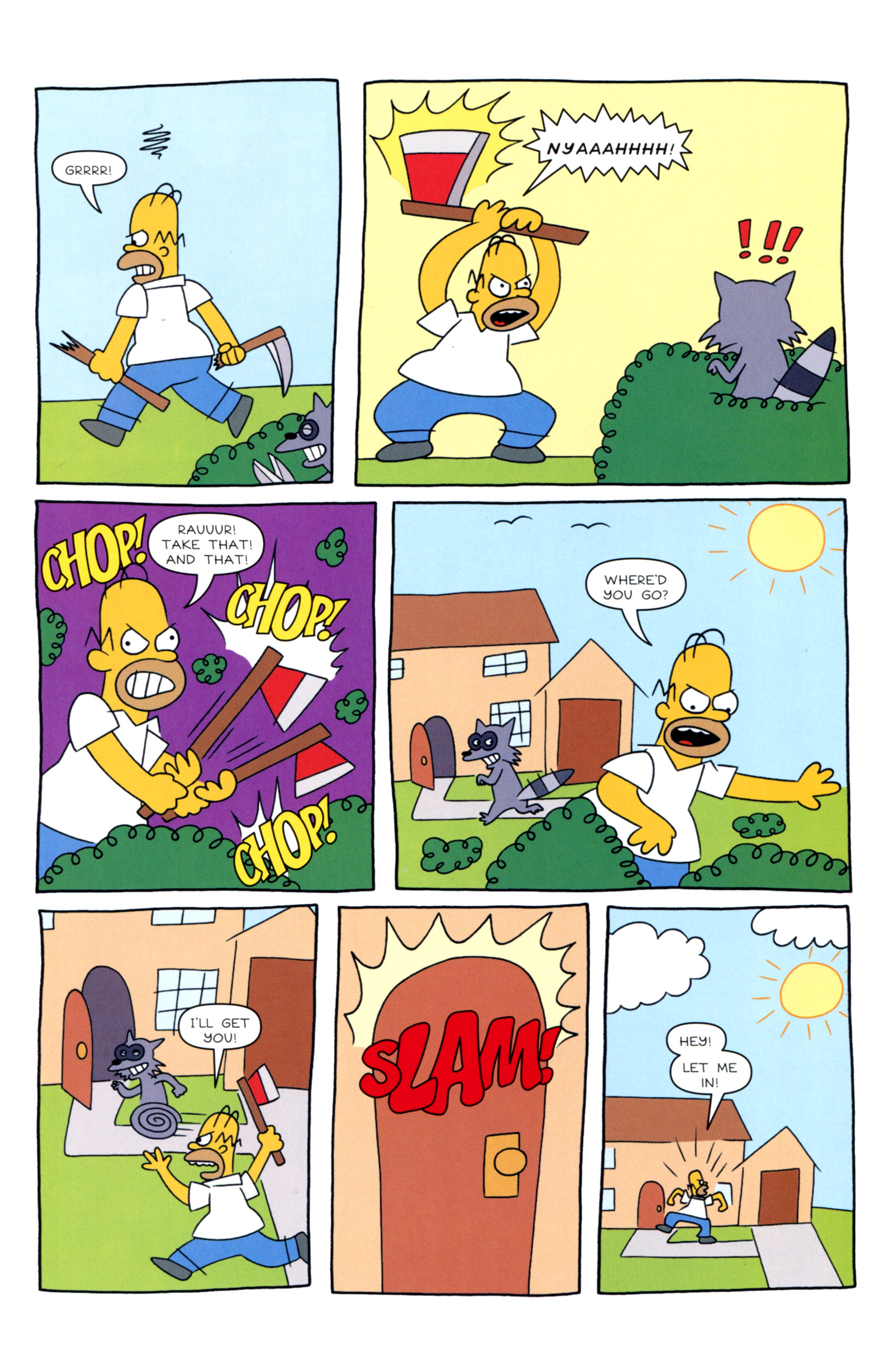 Read online Simpsons Illustrated (2012) comic -  Issue #12 - 31