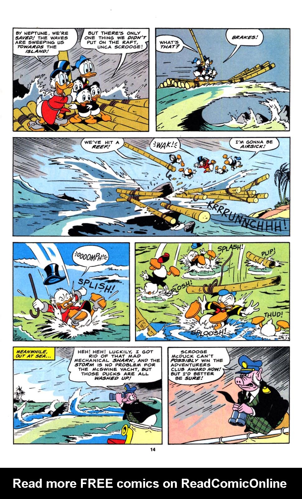 Read online Uncle Scrooge (1953) comic -  Issue #244 - 16