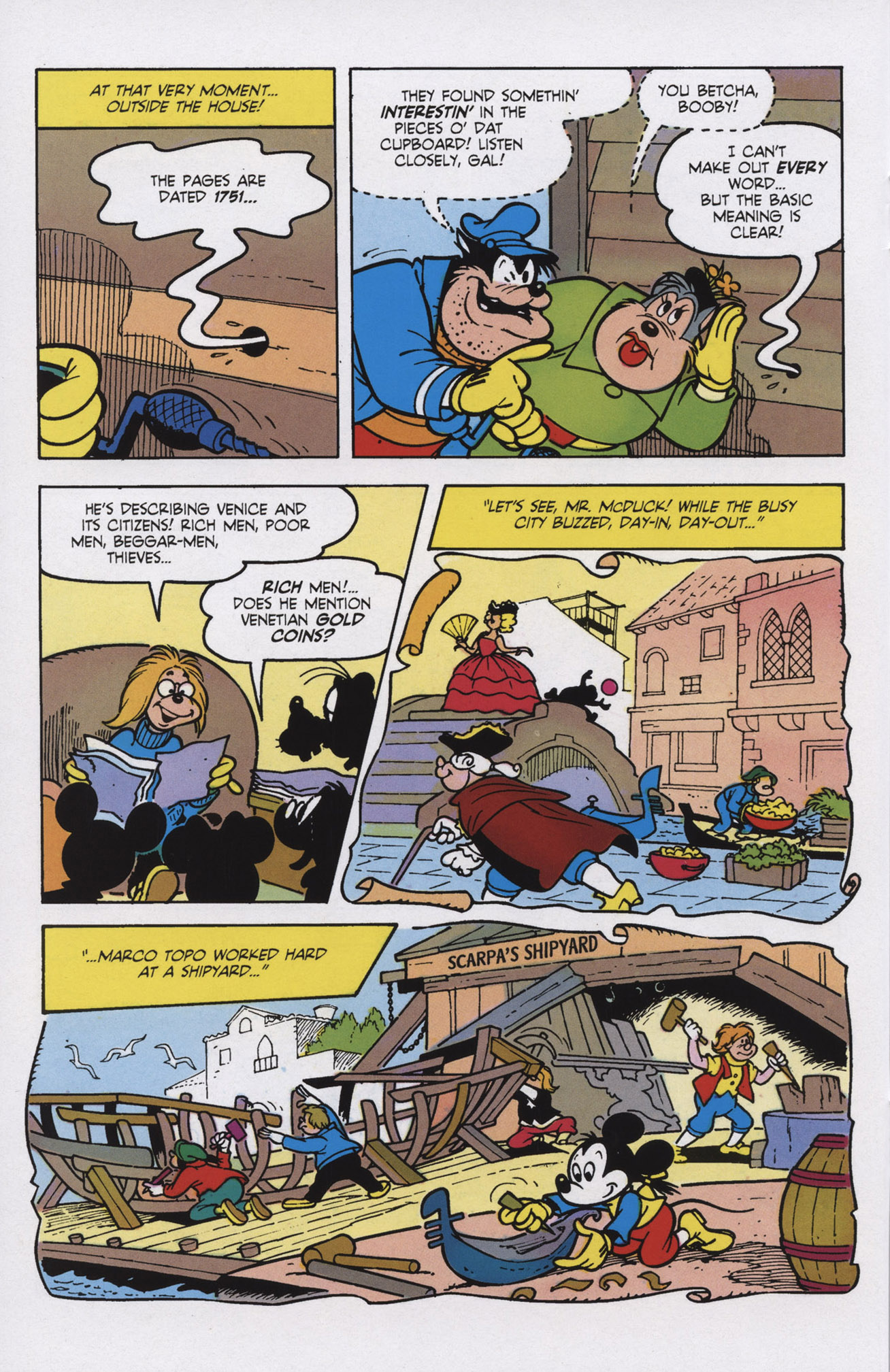 Read online Mickey Mouse (2011) comic -  Issue #309 - 12
