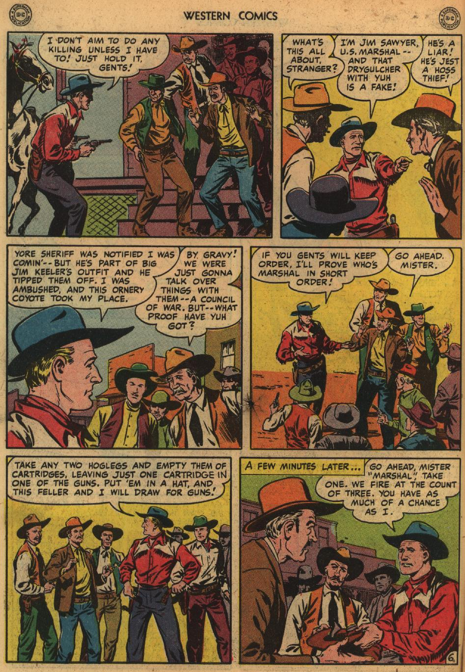 Western Comics issue 1 - Page 8