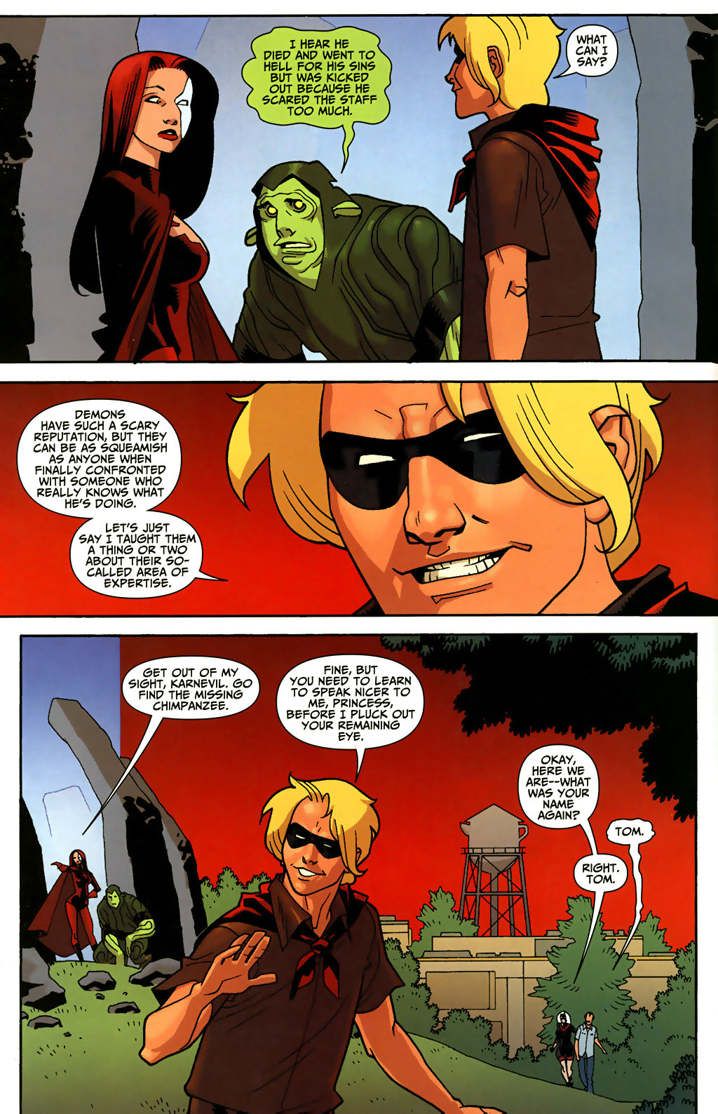 Read online Shadowpact comic -  Issue #3 - 6