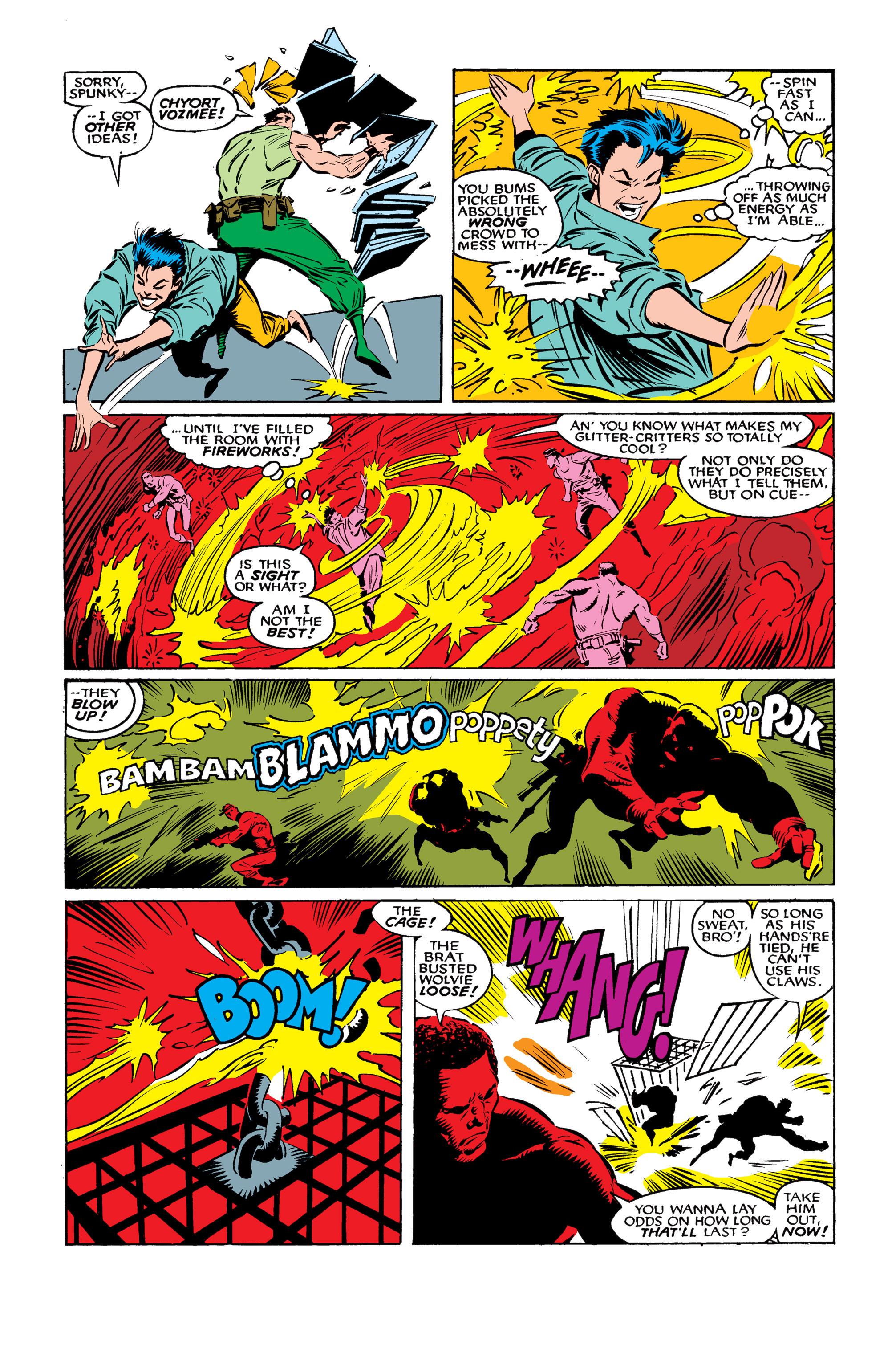 Read online Uncanny X-Men (1963) comic -  Issue #261 - 18