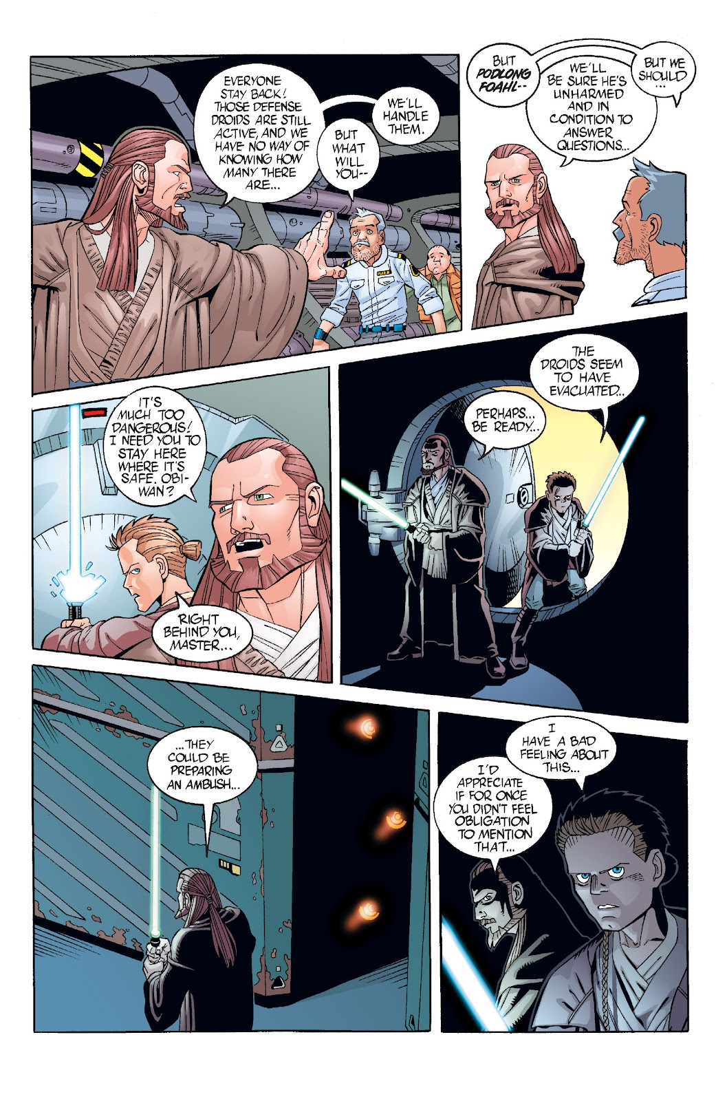 Read online Star Wars Legends: Rise of the Sith - Epic Collection comic -  Issue # TPB 1 (Part 3) - 43