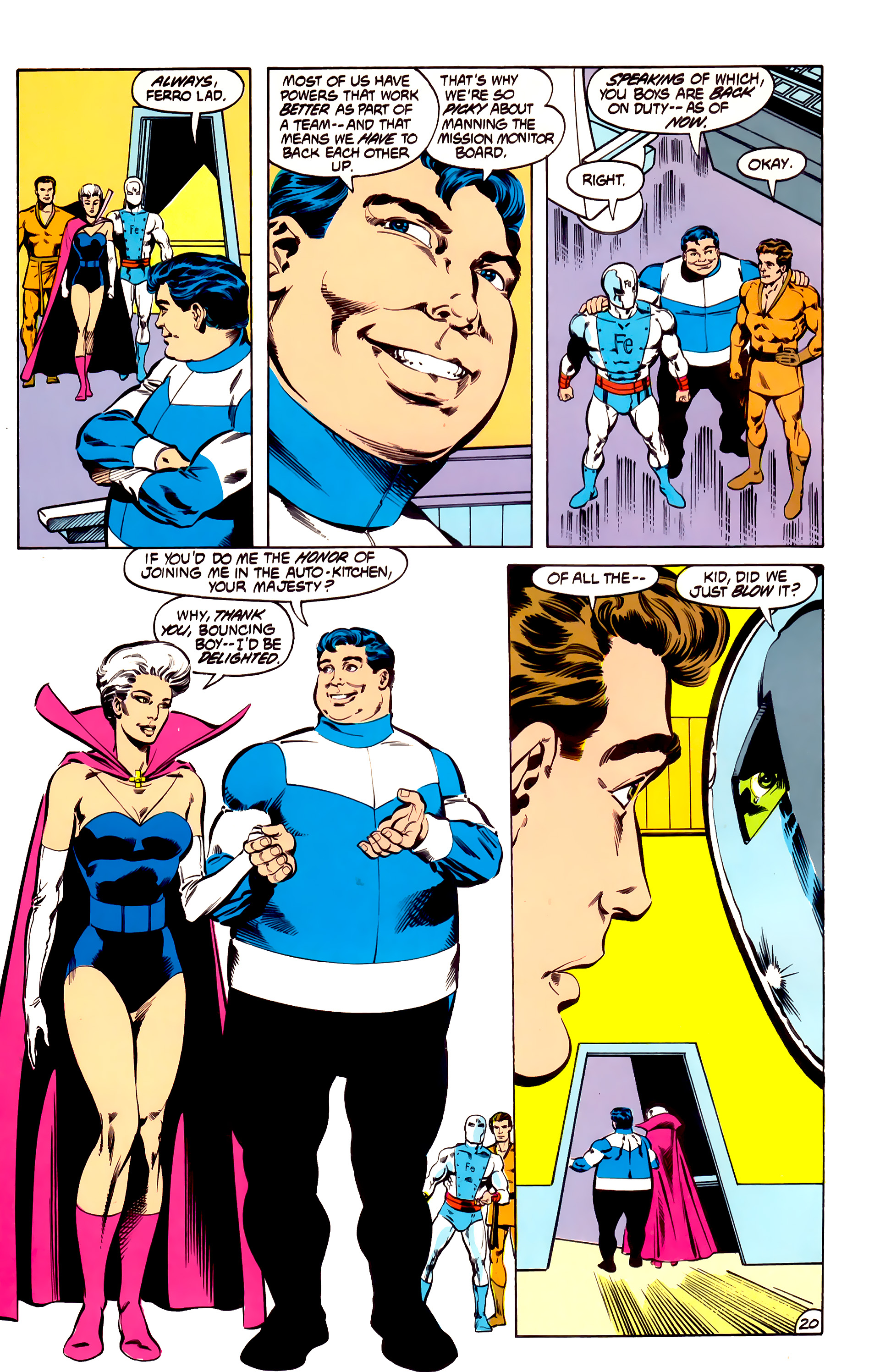 Legion of Super-Heroes (1984) 31 Page 20