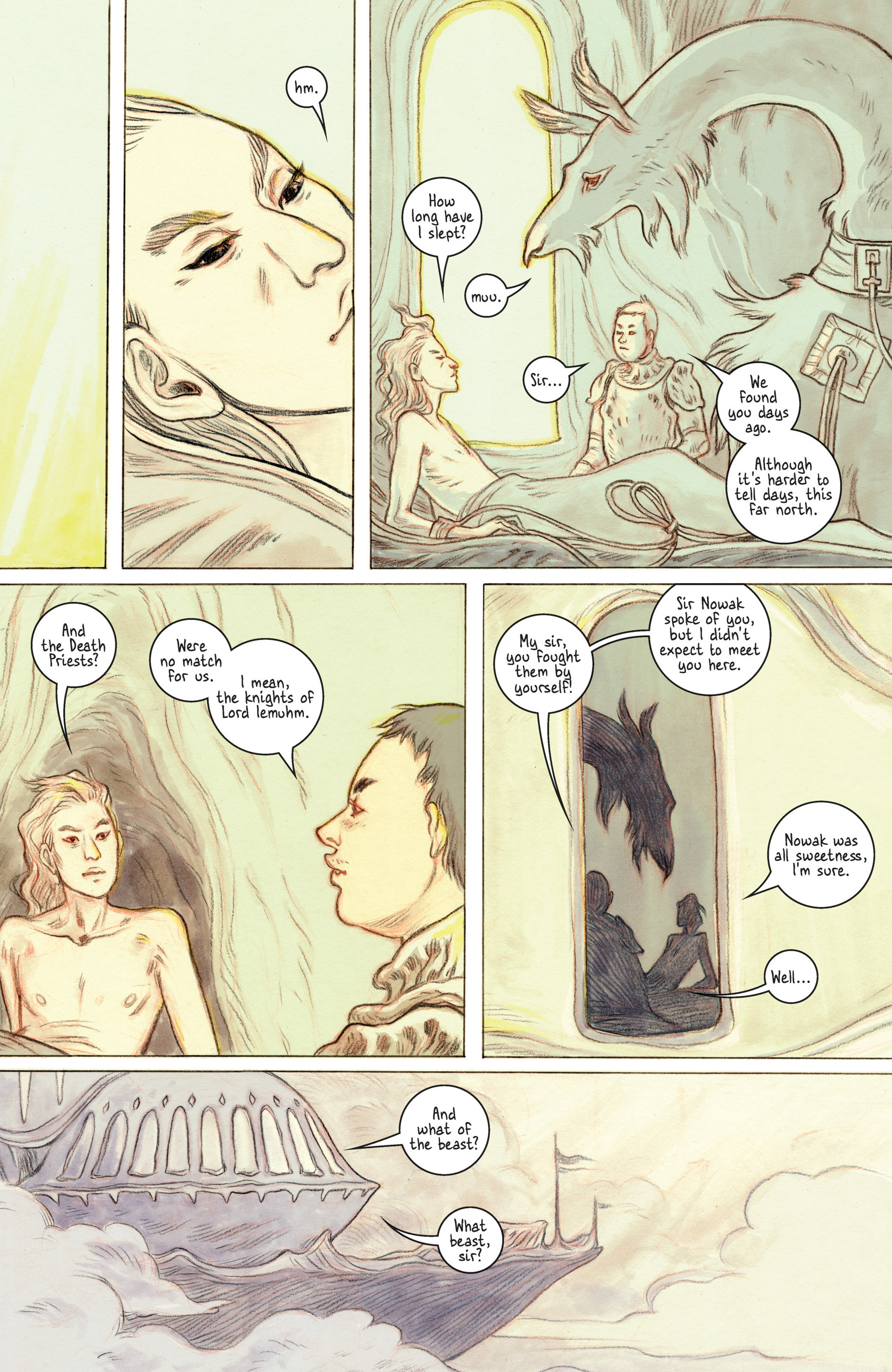 Read online 8House comic -  Issue #2 - 19