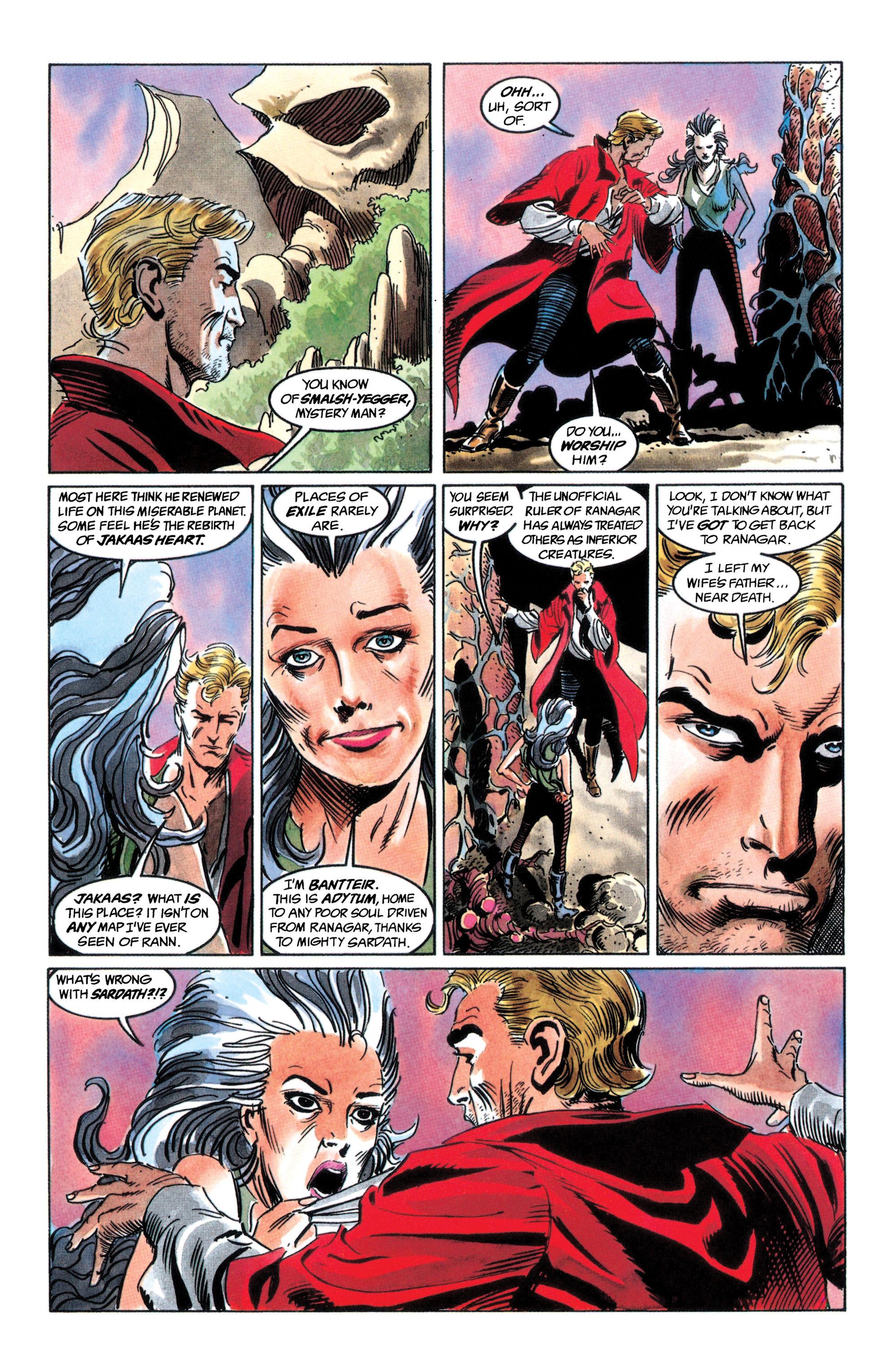 Read online Adam Strange (1990) comic -  Issue #2 - 45