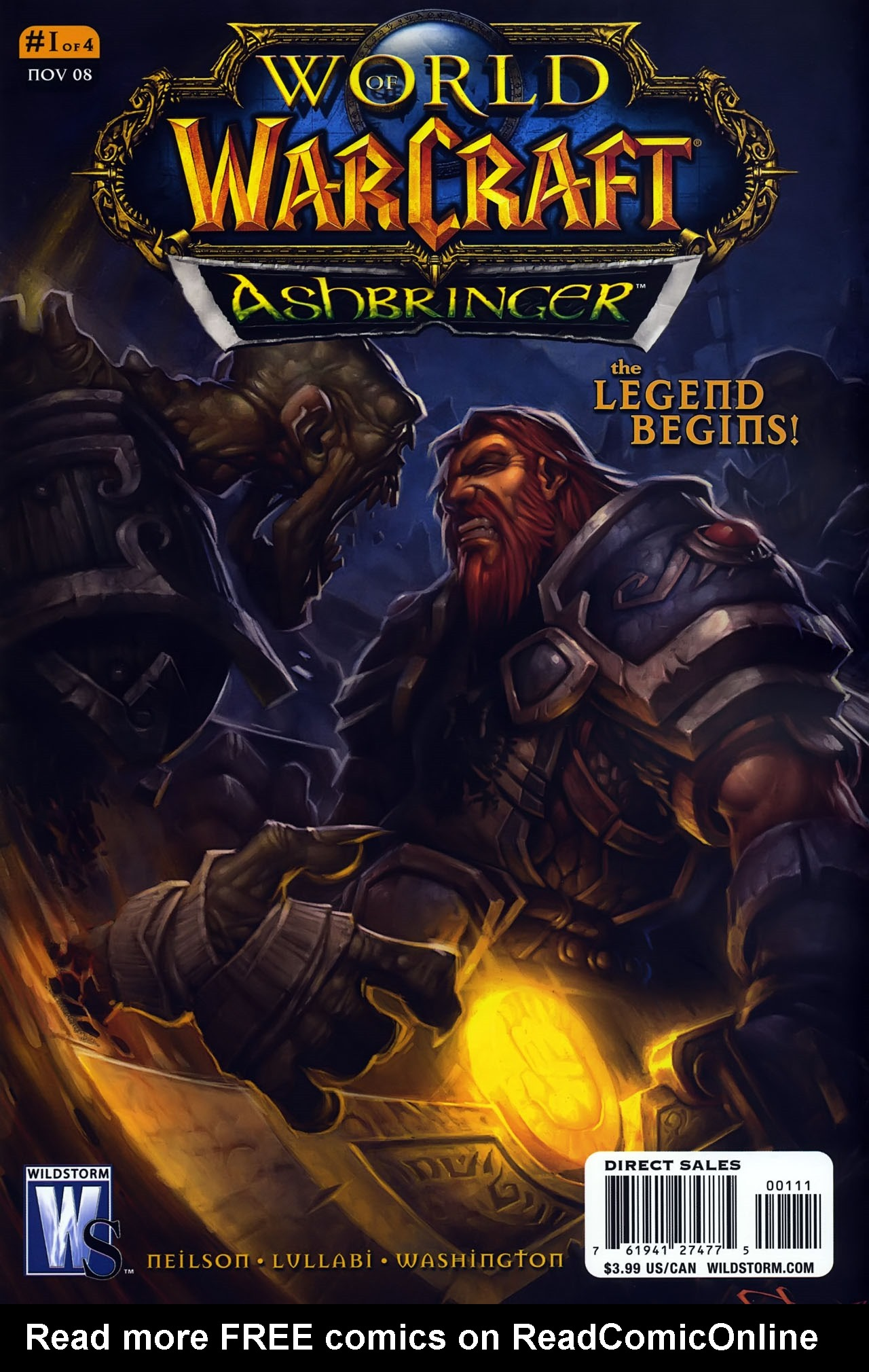 Read online World of Warcraft: Ashbringer comic -  Issue #1 - 1
