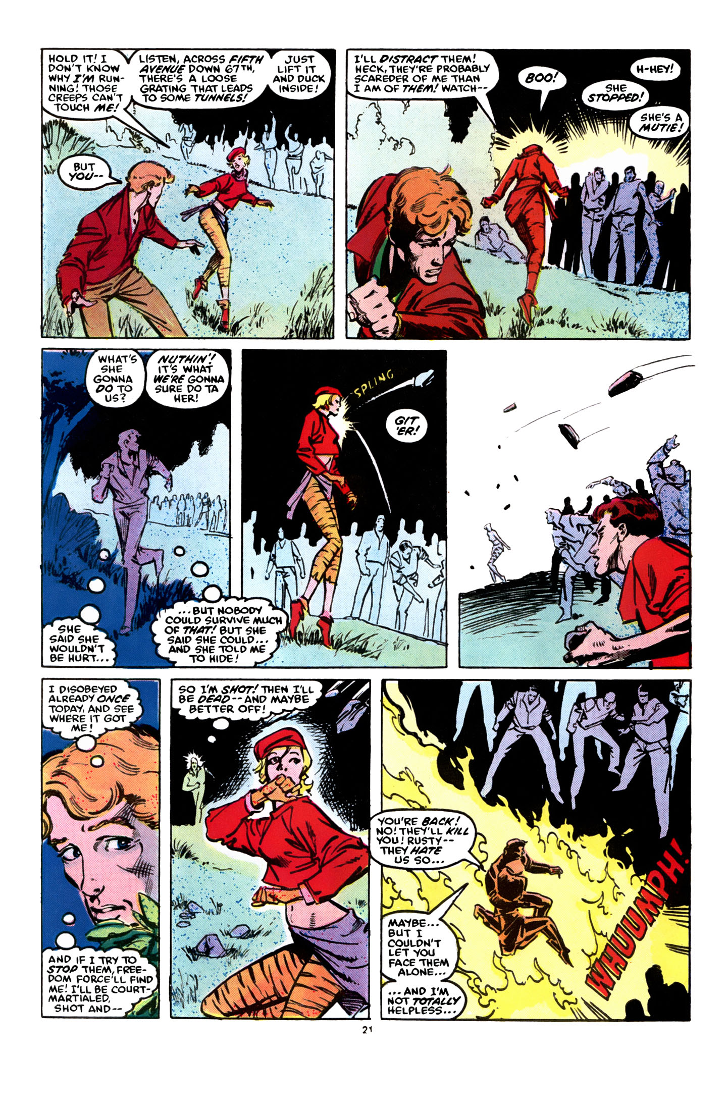 Read online X-Factor (1986) comic -  Issue #8 - 23