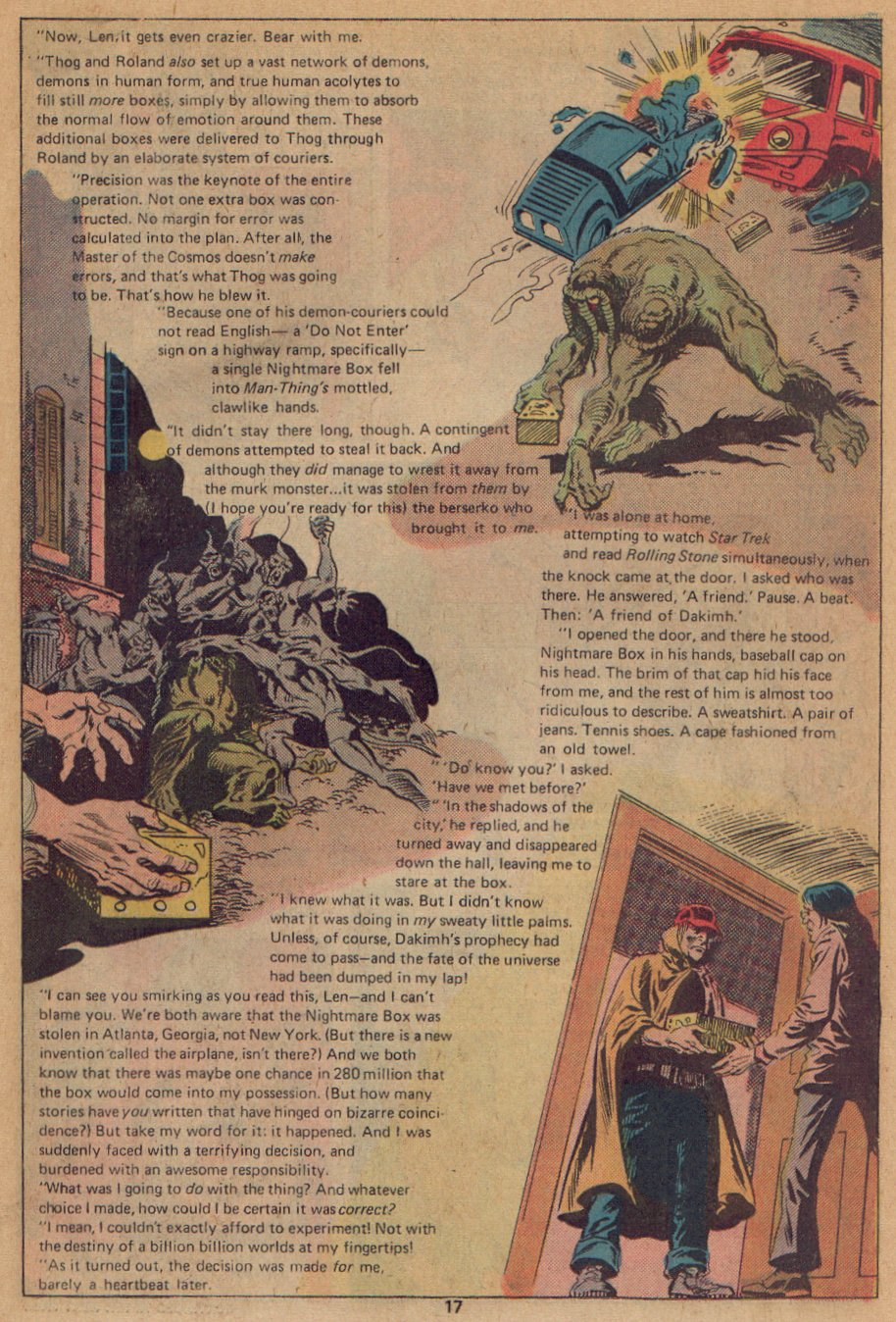 Man-Thing (1974) issue 22 - Page 12