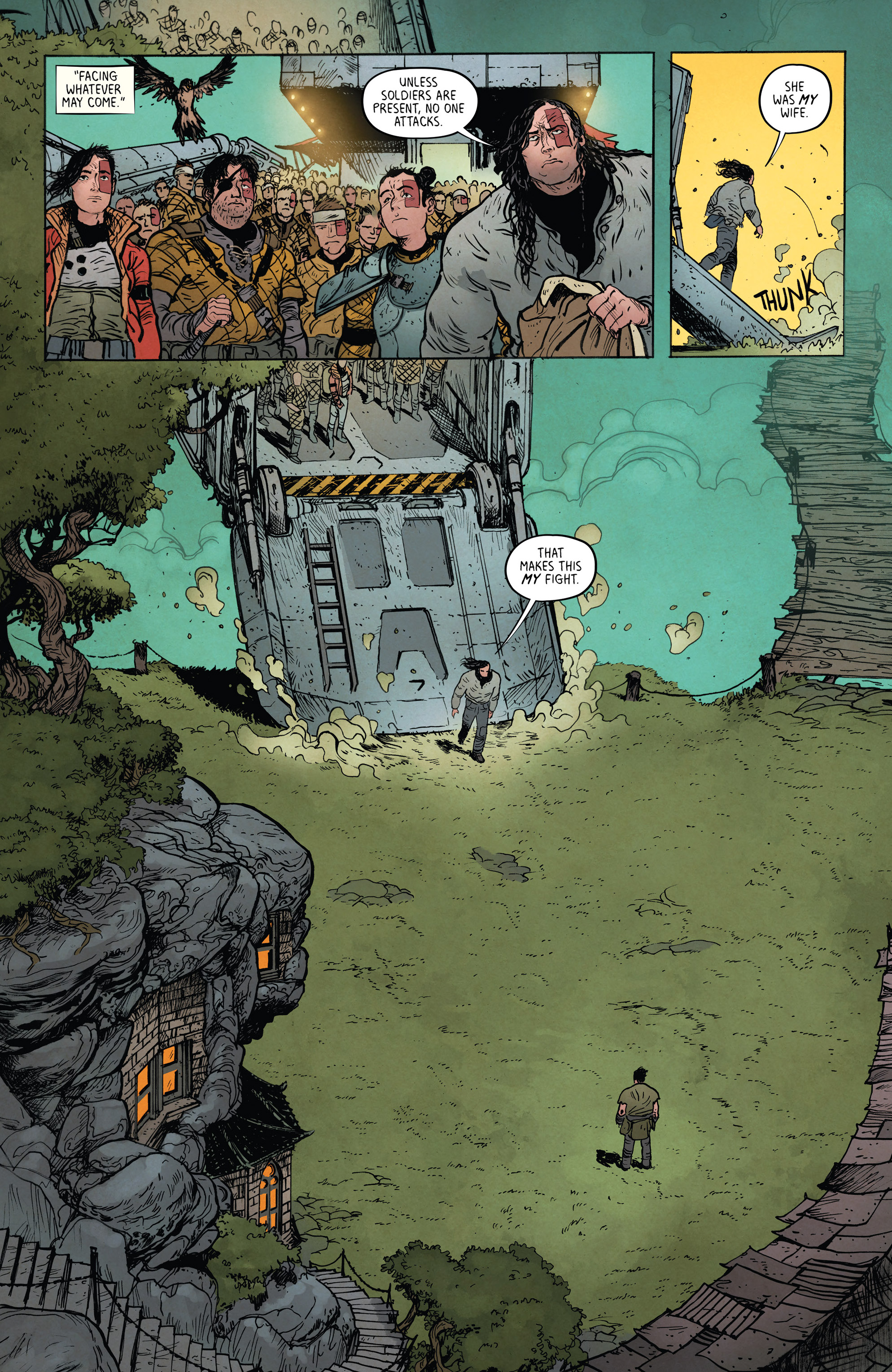 Read online Extremity comic -  Issue #4 - 11