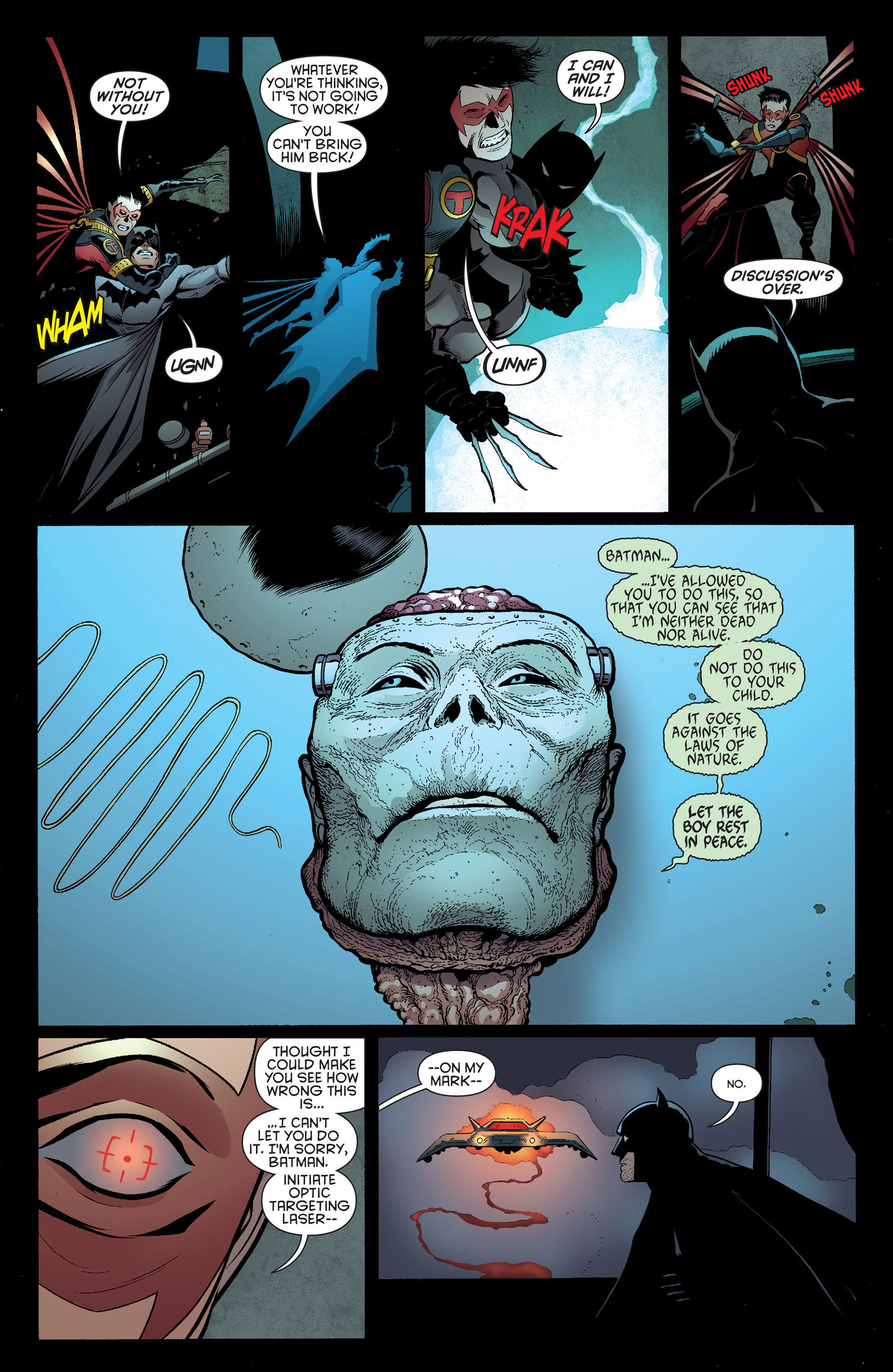 Read online Batman and Robin (2011) comic -  Issue #19 - 19