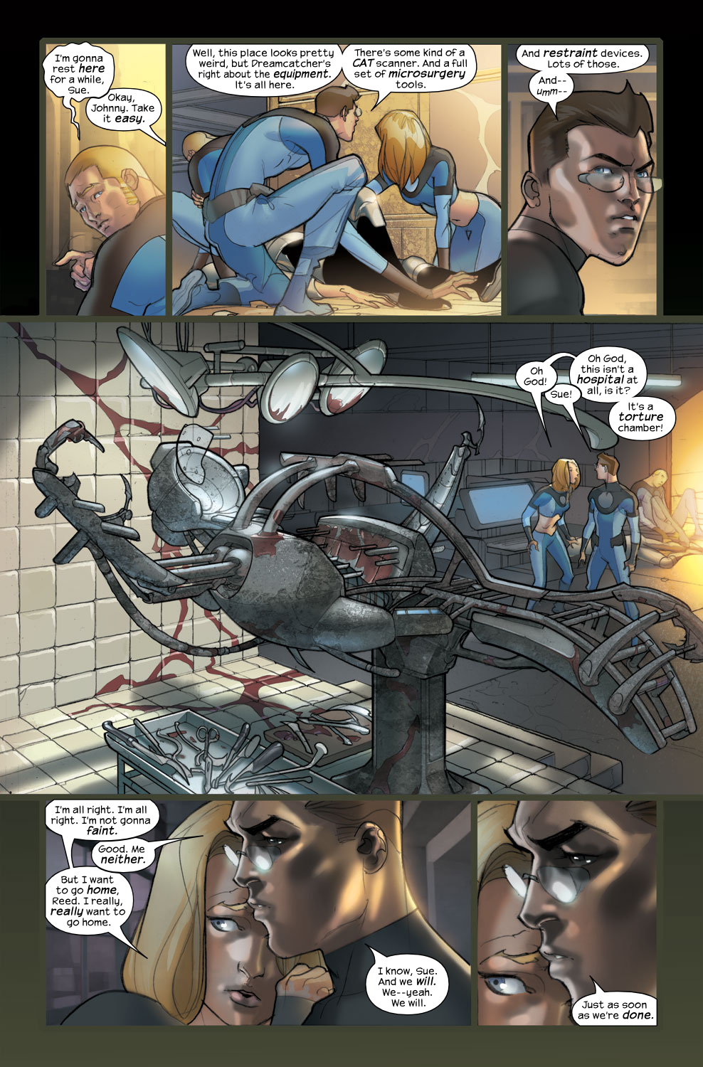 Read online Ultimate Fantastic Four (2004) comic -  Issue #36 - 12