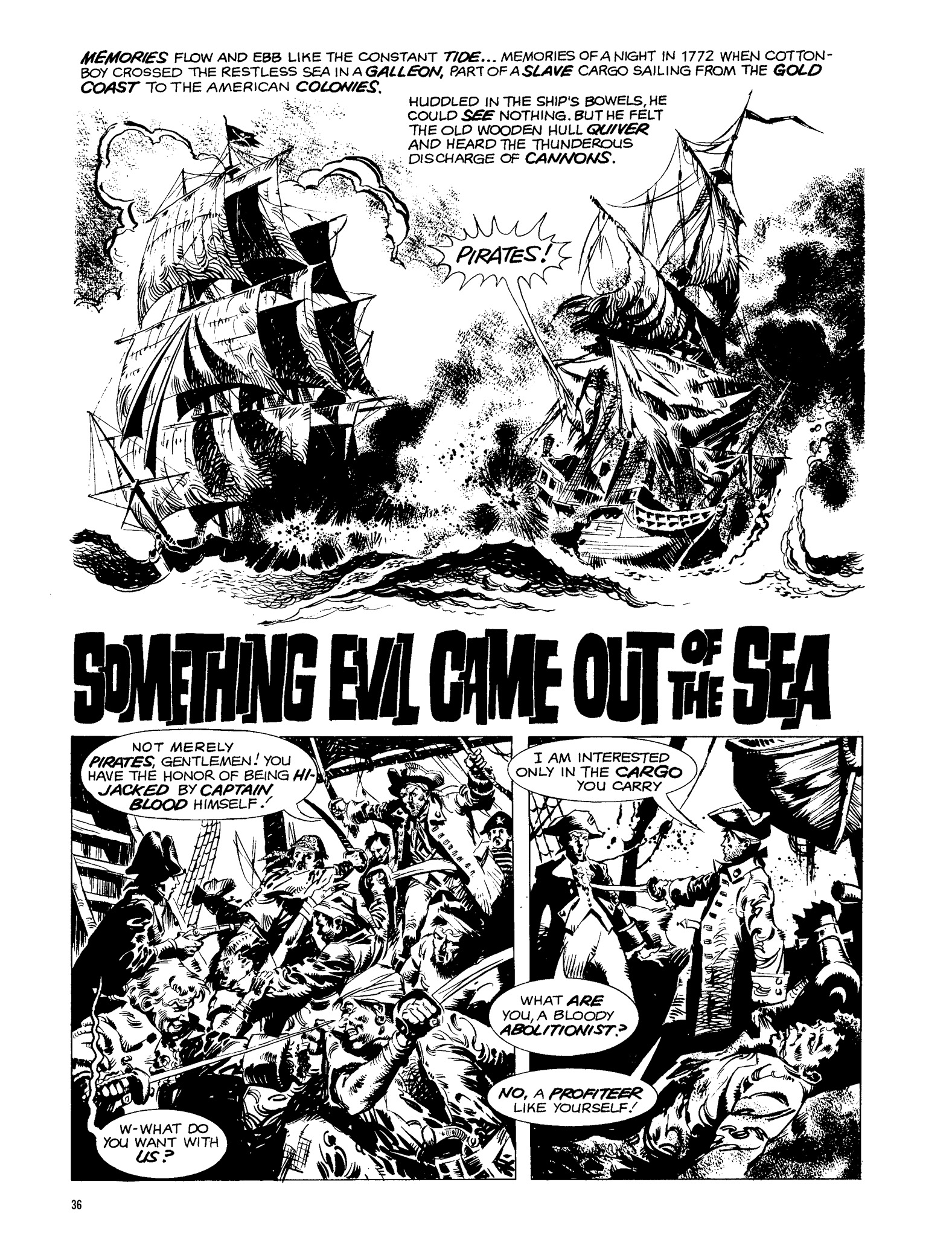 Read online Eerie Archives comic -  Issue # TPB 13 - 37
