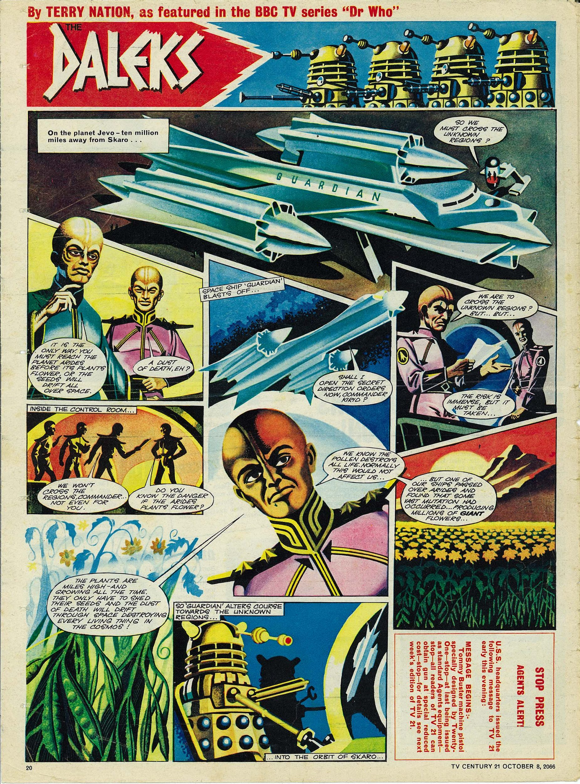 Read online TV Century 21 (TV 21) comic -  Issue #90 - 19