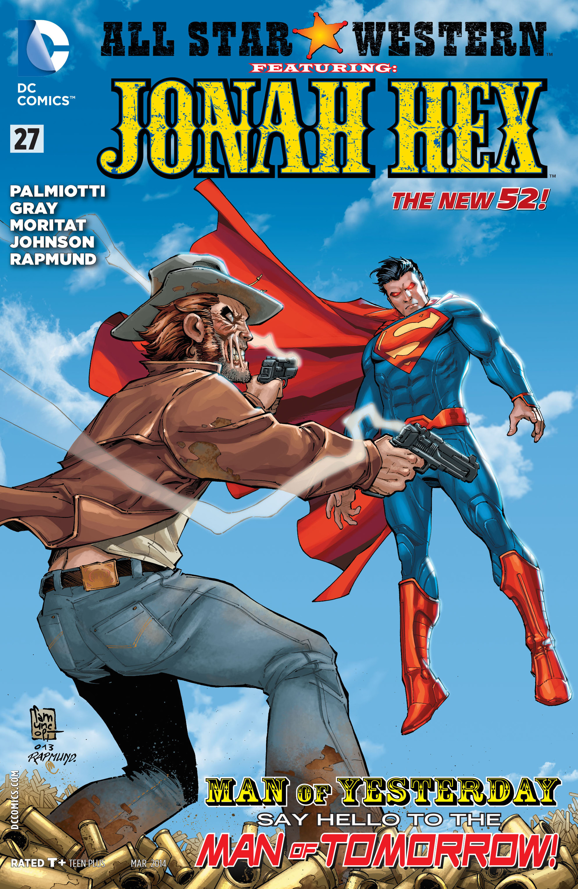 Read online All-Star Western (2011) comic -  Issue #27 - 1