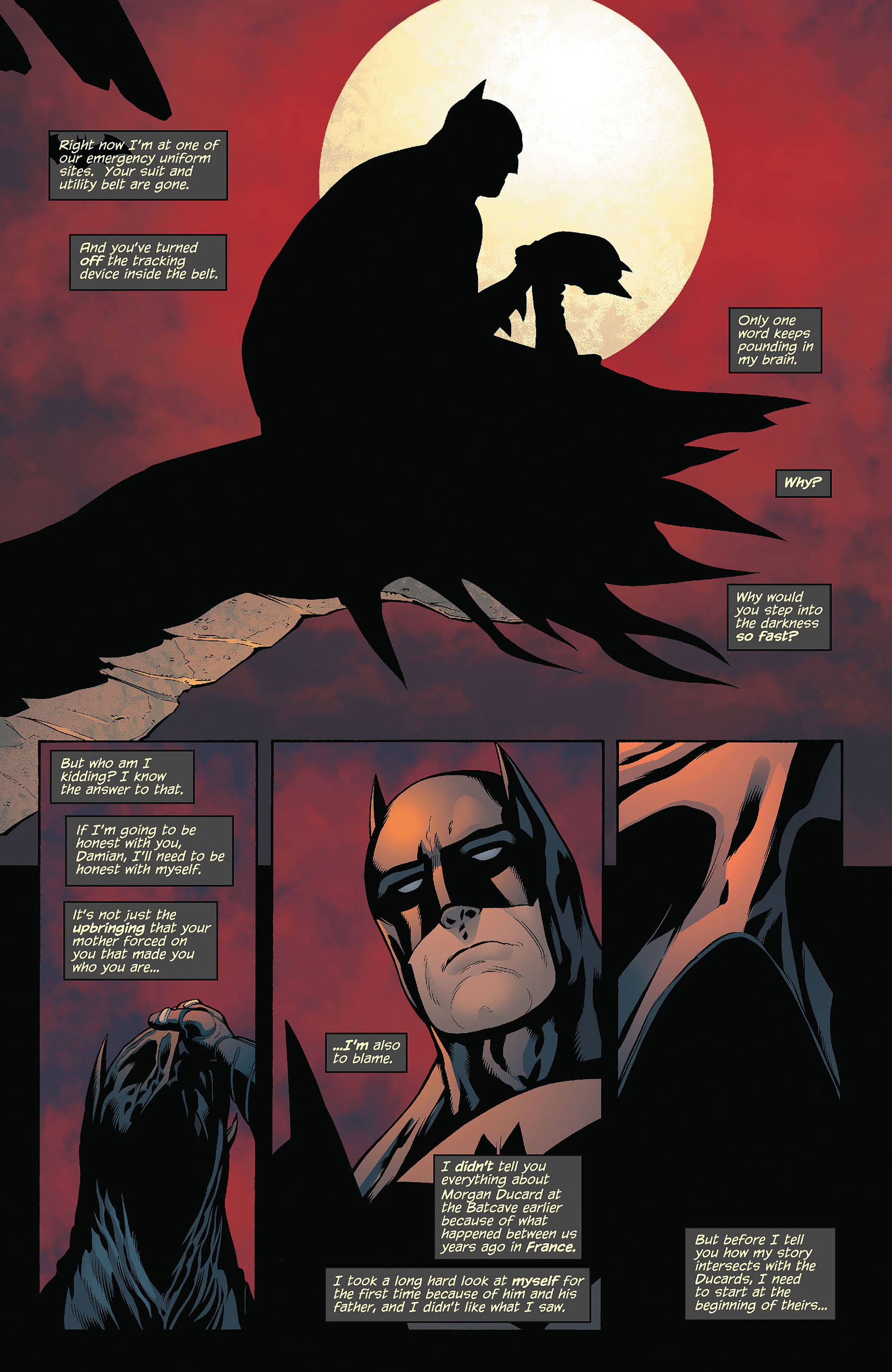 Read online Batman and Robin (2011) comic -  Issue #5 - 9