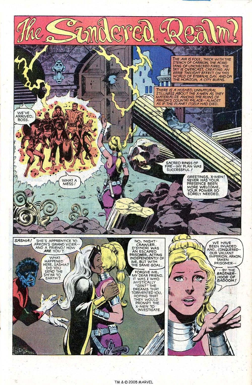 Read online Uncanny X-Men (1963) comic -  Issue # _Annual 5 - 19