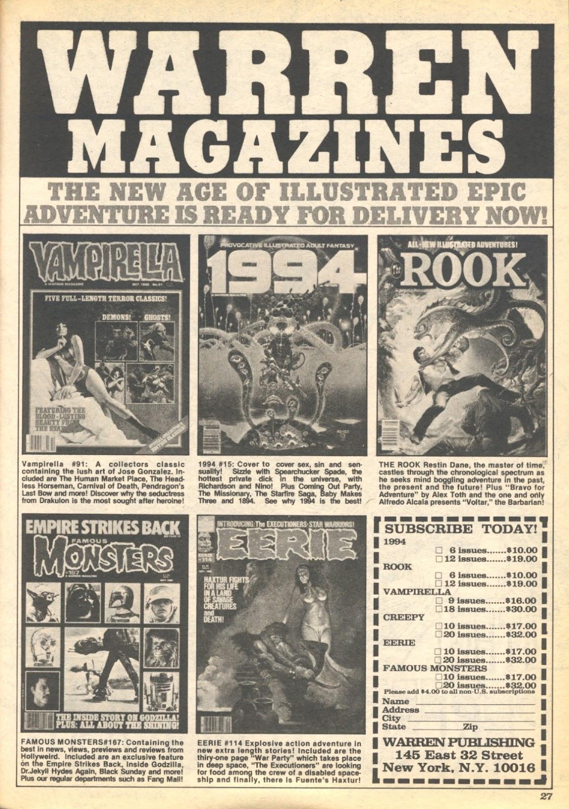 Creepy (1964) Issue #122 #122 - English 27