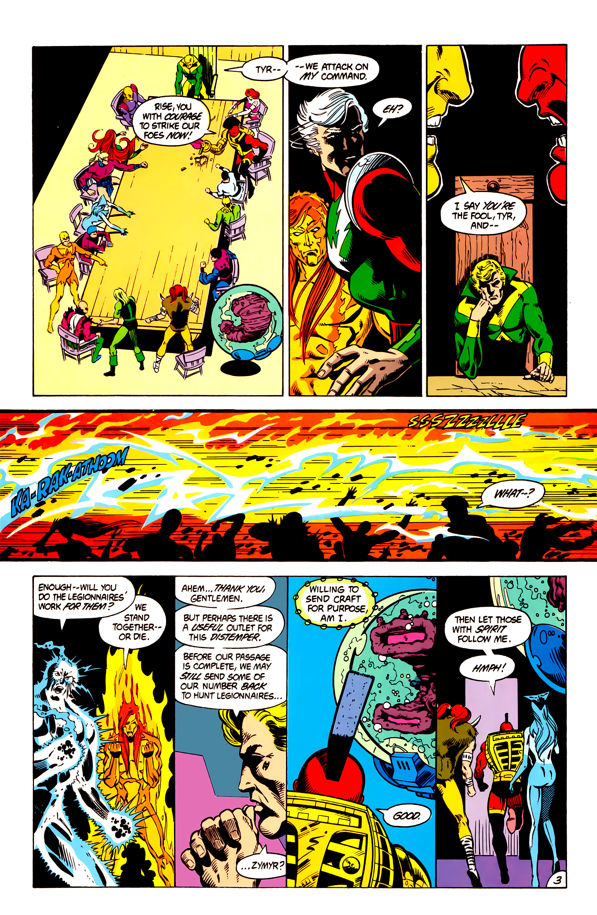 Legion of Super-Heroes (1984) 4 Page 4