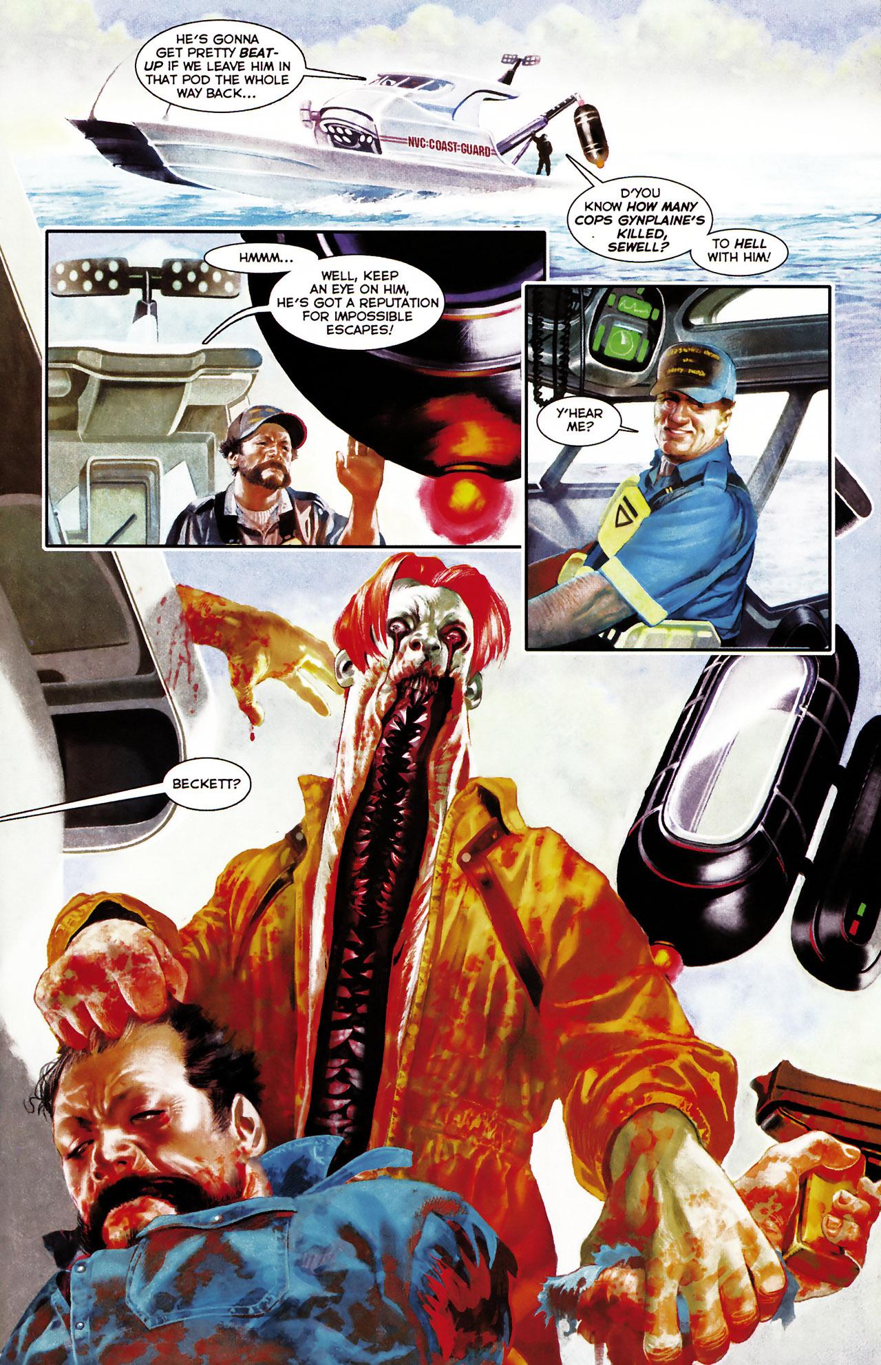 Read online Shark-Man comic -  Issue #1 - 11