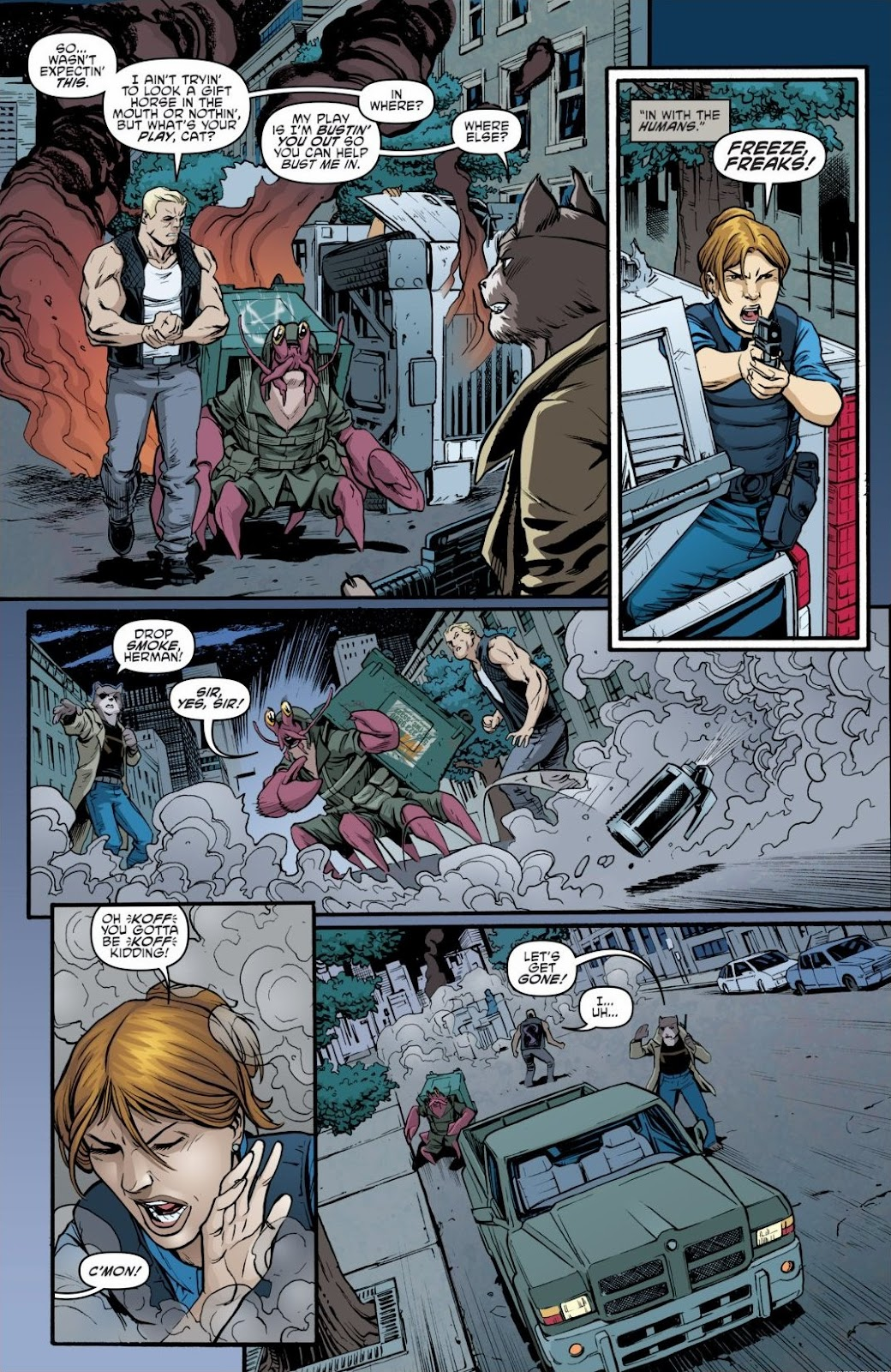 Read online Teenage Mutant Ninja Turtles: The IDW Collection comic -  Issue # TPB 6 (Part 3) - 2