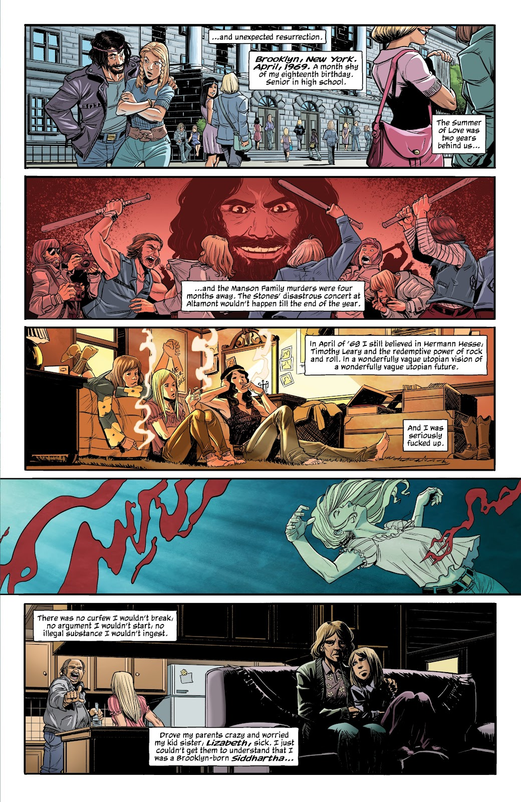 Read online The Girl In The Bay comic -  Issue #1 - 5