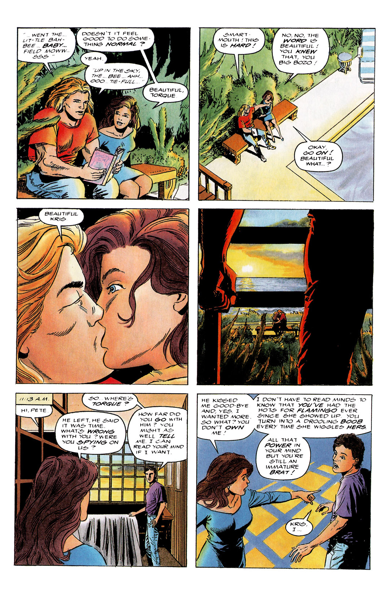 Read online Harbinger (1992) comic -  Issue #4 - 8