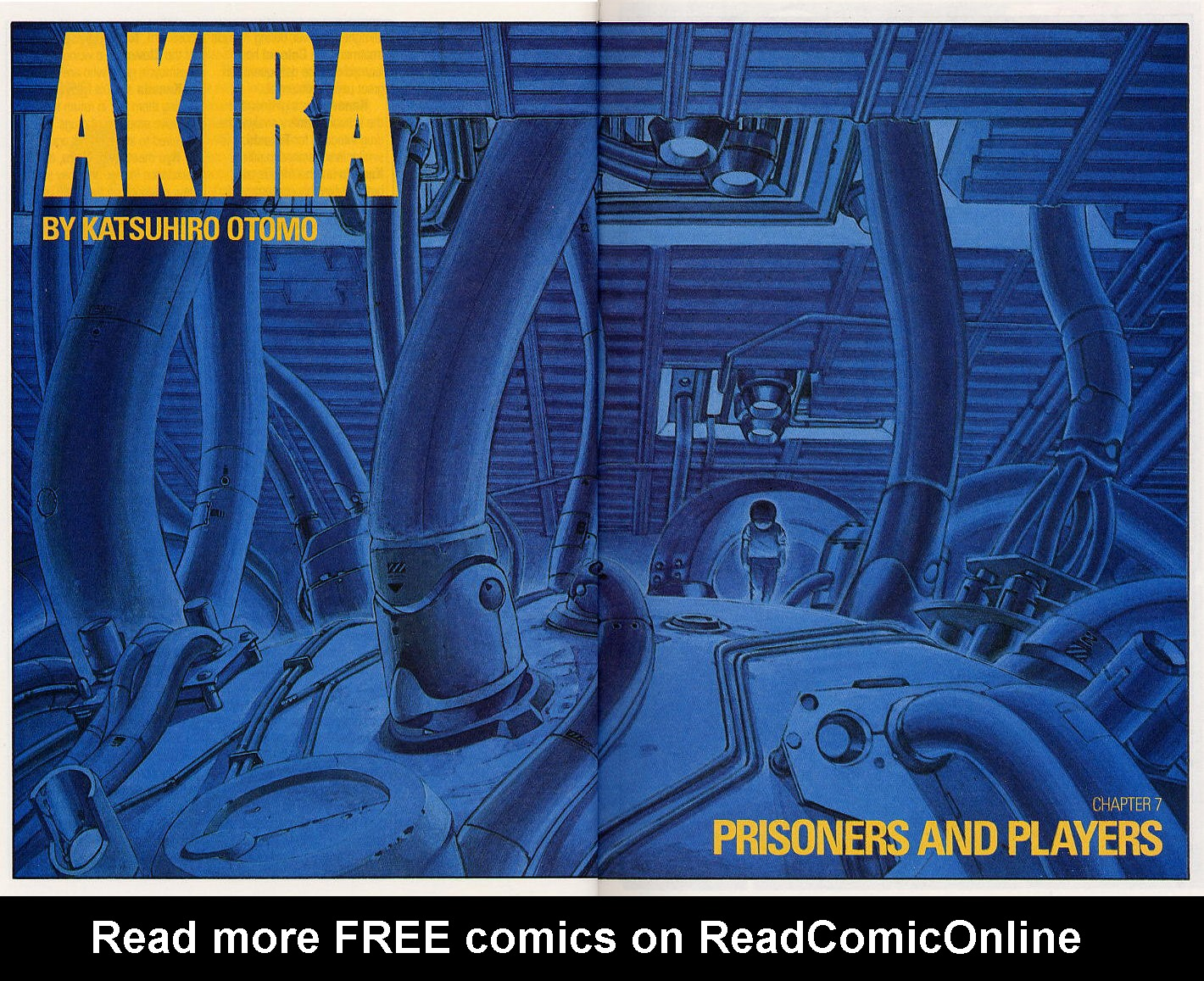 Read online Akira comic -  Issue #7 - 6