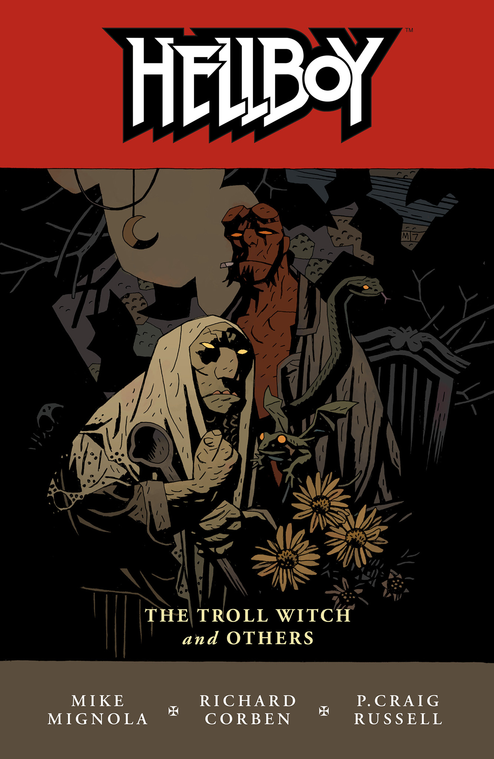 Read online Hellboy: The Troll Witch and Others comic -  Issue # TPB - 1
