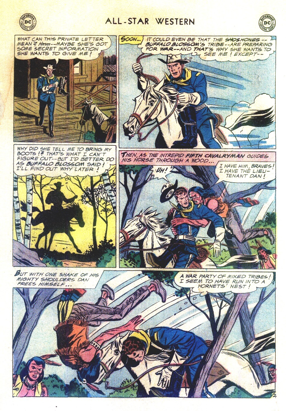 Read online All-Star Western (1951) comic -  Issue #111 - 17