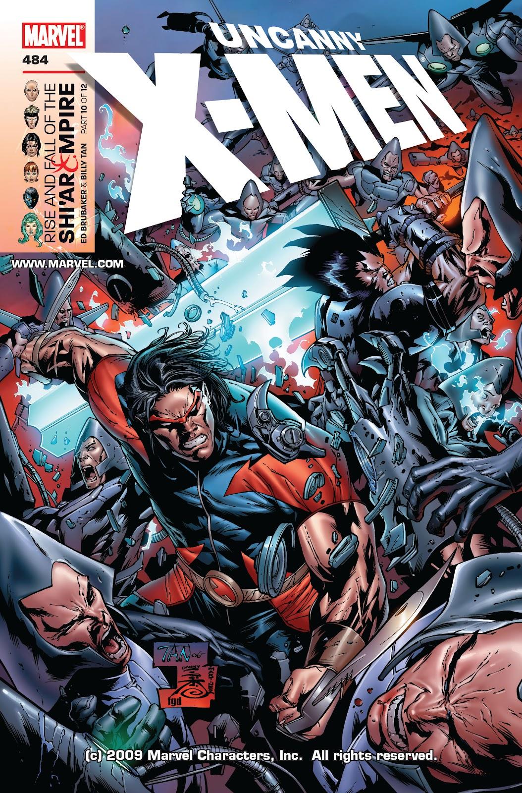 Uncanny X-Men (1963) 484 Page 1