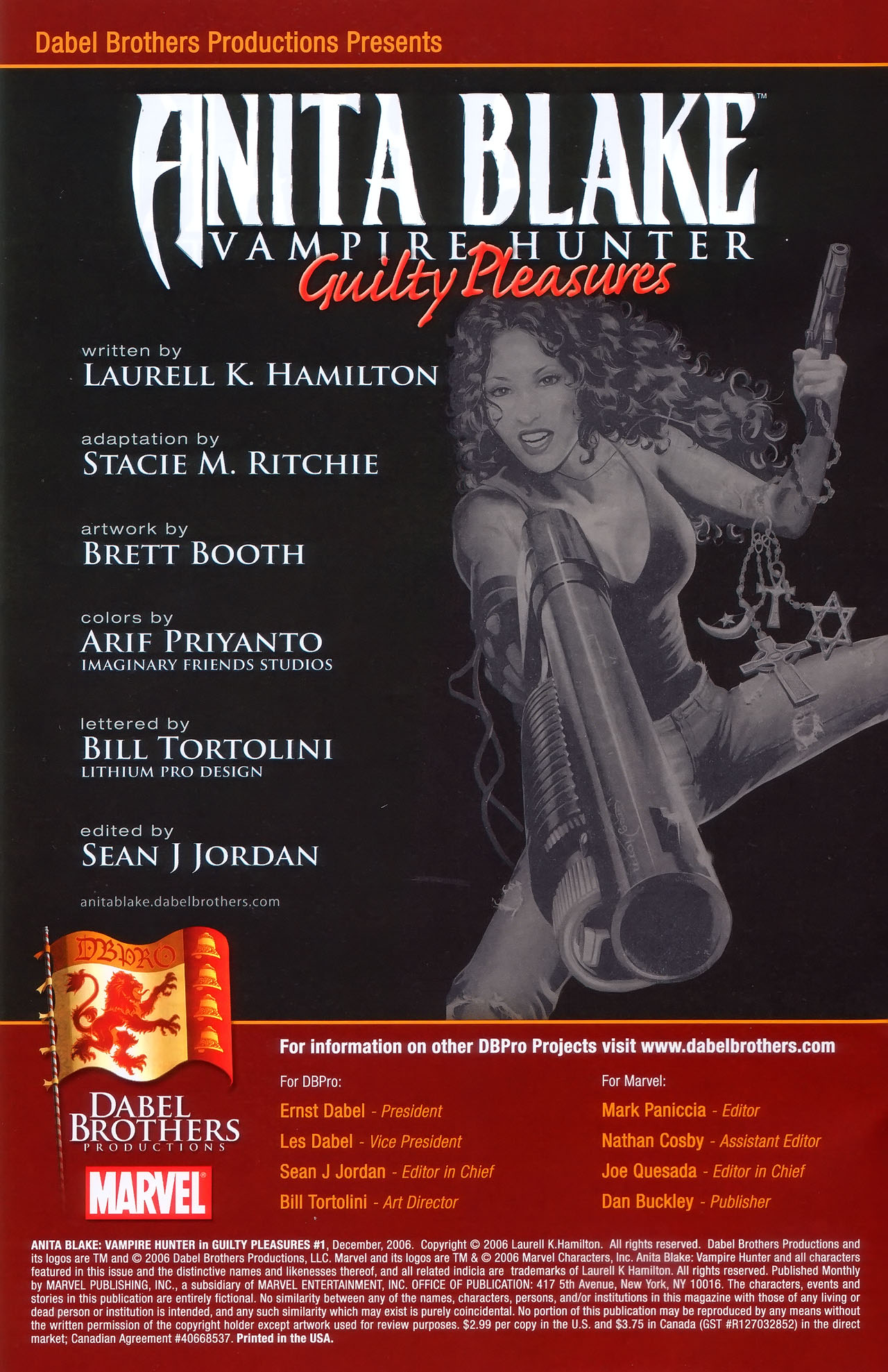 Read online Anita Blake, Vampire Hunter: Guilty Pleasures comic -  Issue #1 - 3
