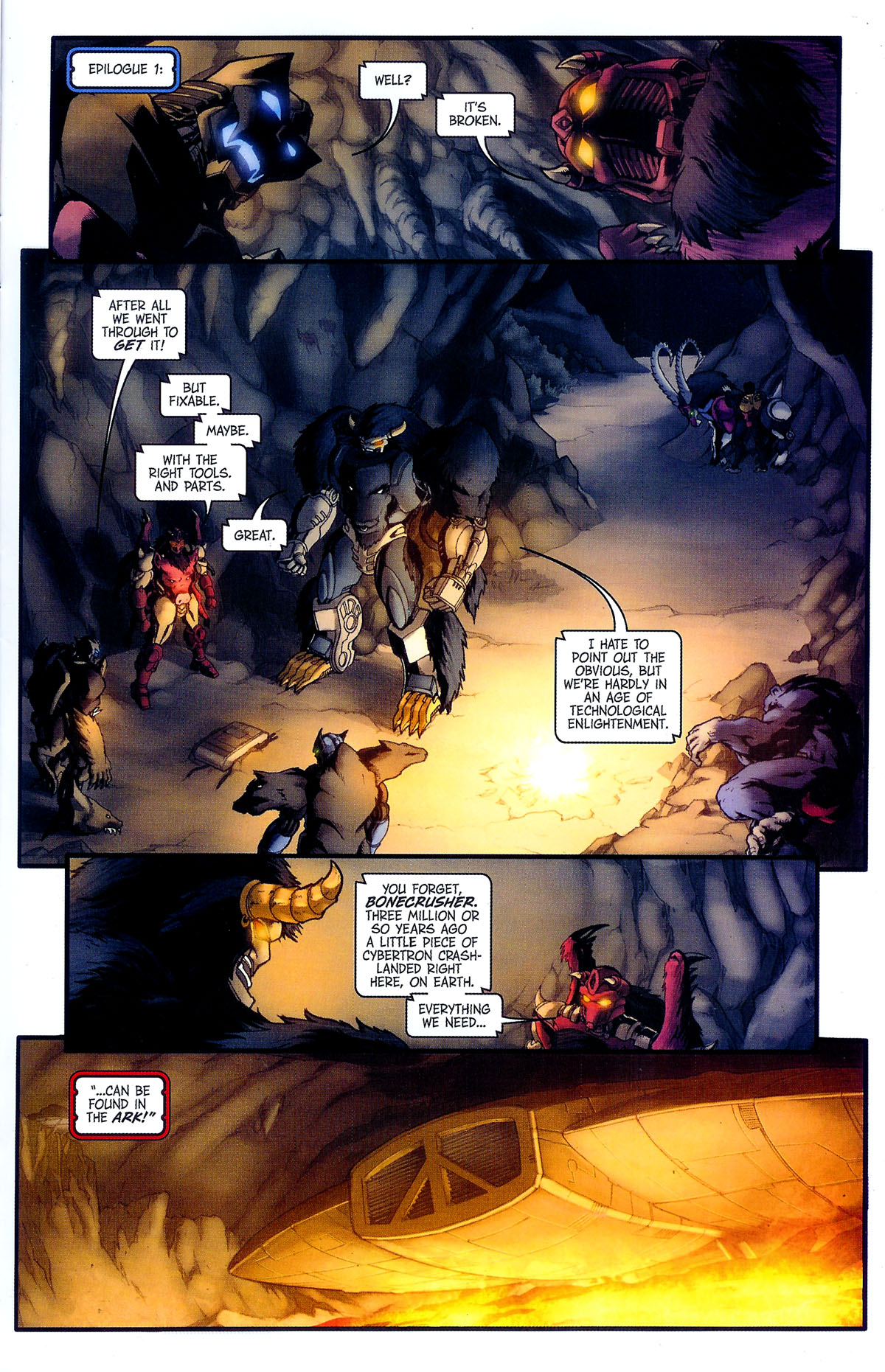 Read online Transformers, Beast Wars: The Gathering comic -  Issue #2 - 24