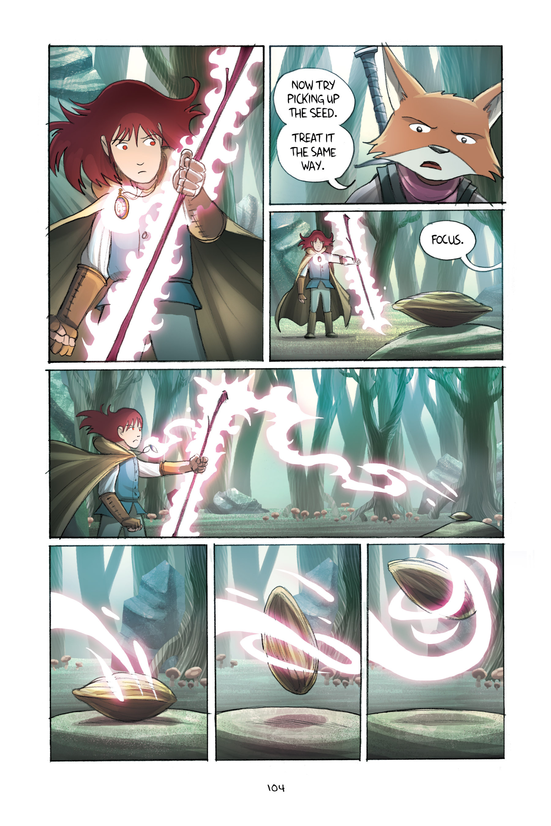 Read online Amulet comic -  Issue #2 - 104