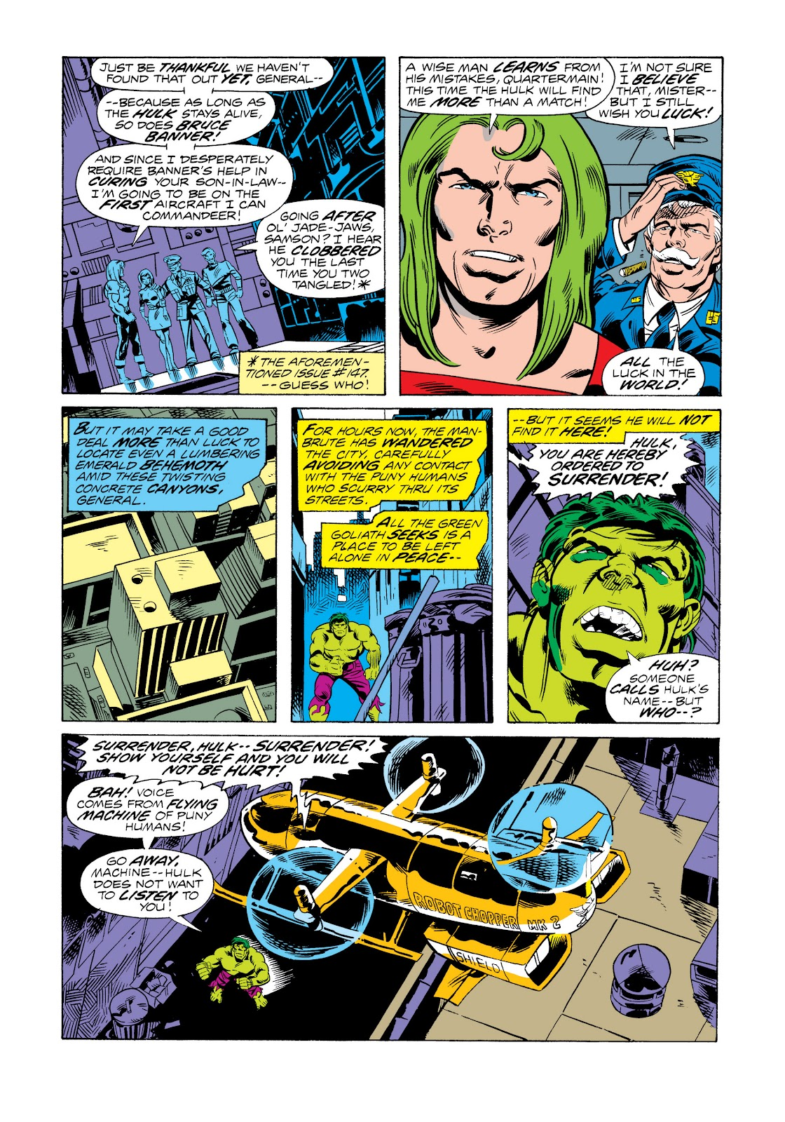 Read online Marvel Masterworks: The Incredible Hulk comic -  Issue # TPB 11 (Part 2) - 89