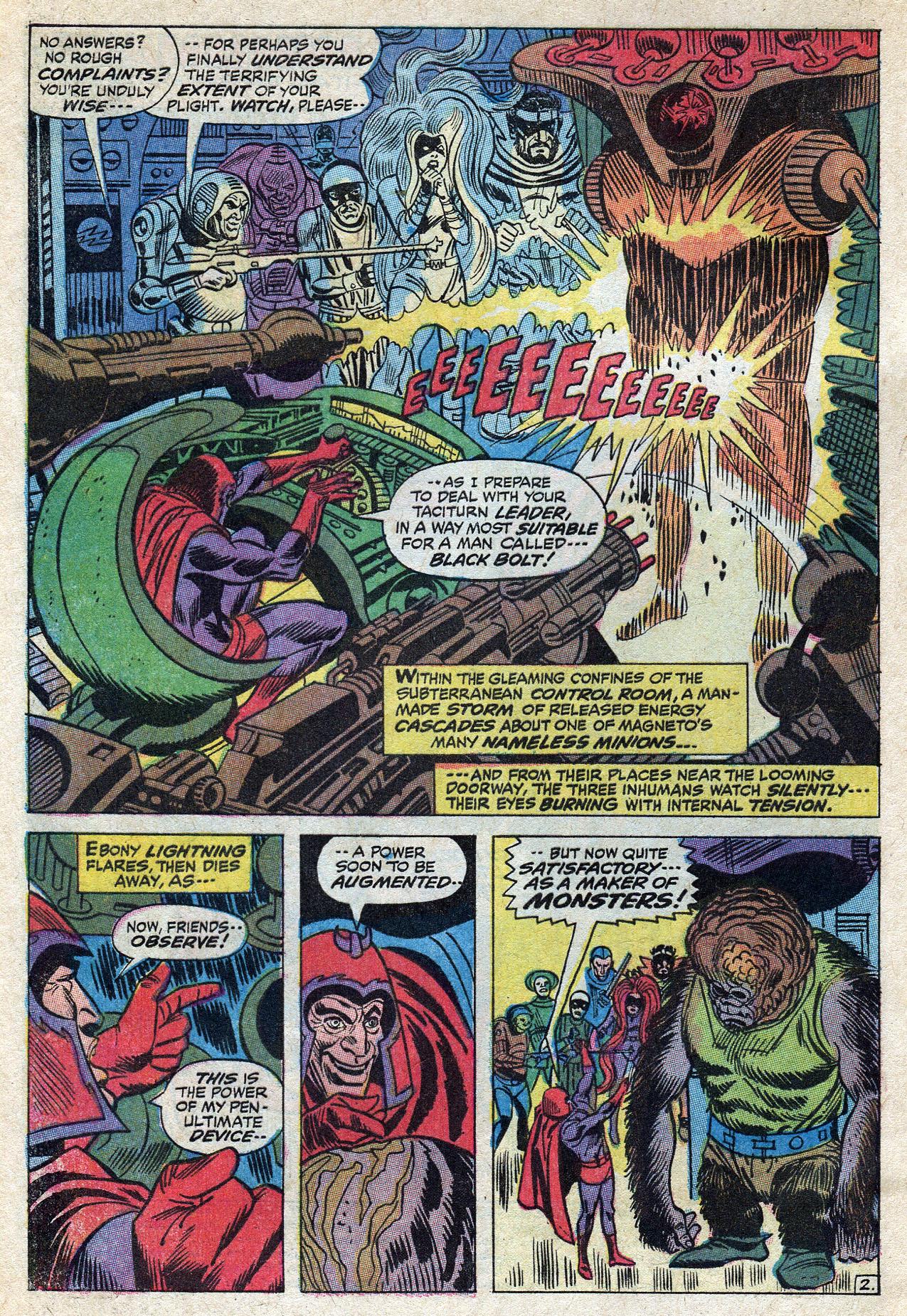 Read online Amazing Adventures (1970) comic -  Issue #10 - 4