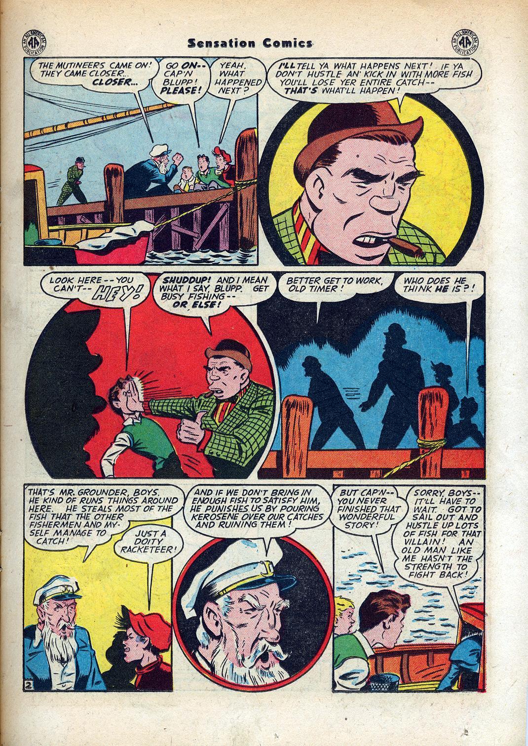 Read online Sensation (Mystery) Comics comic -  Issue #45 - 17