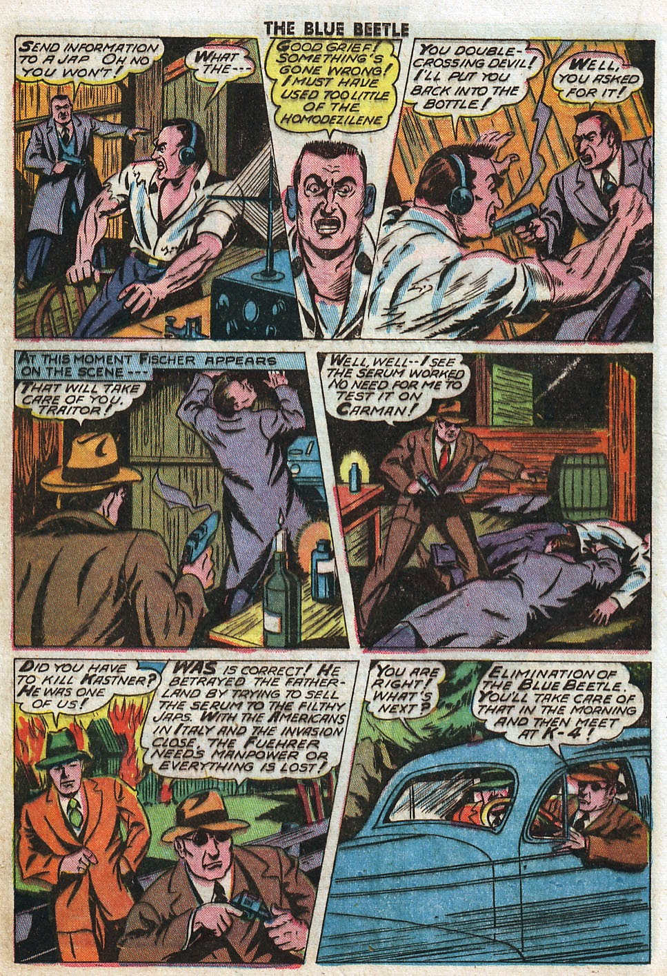 The Blue Beetle issue 33 - Page 22