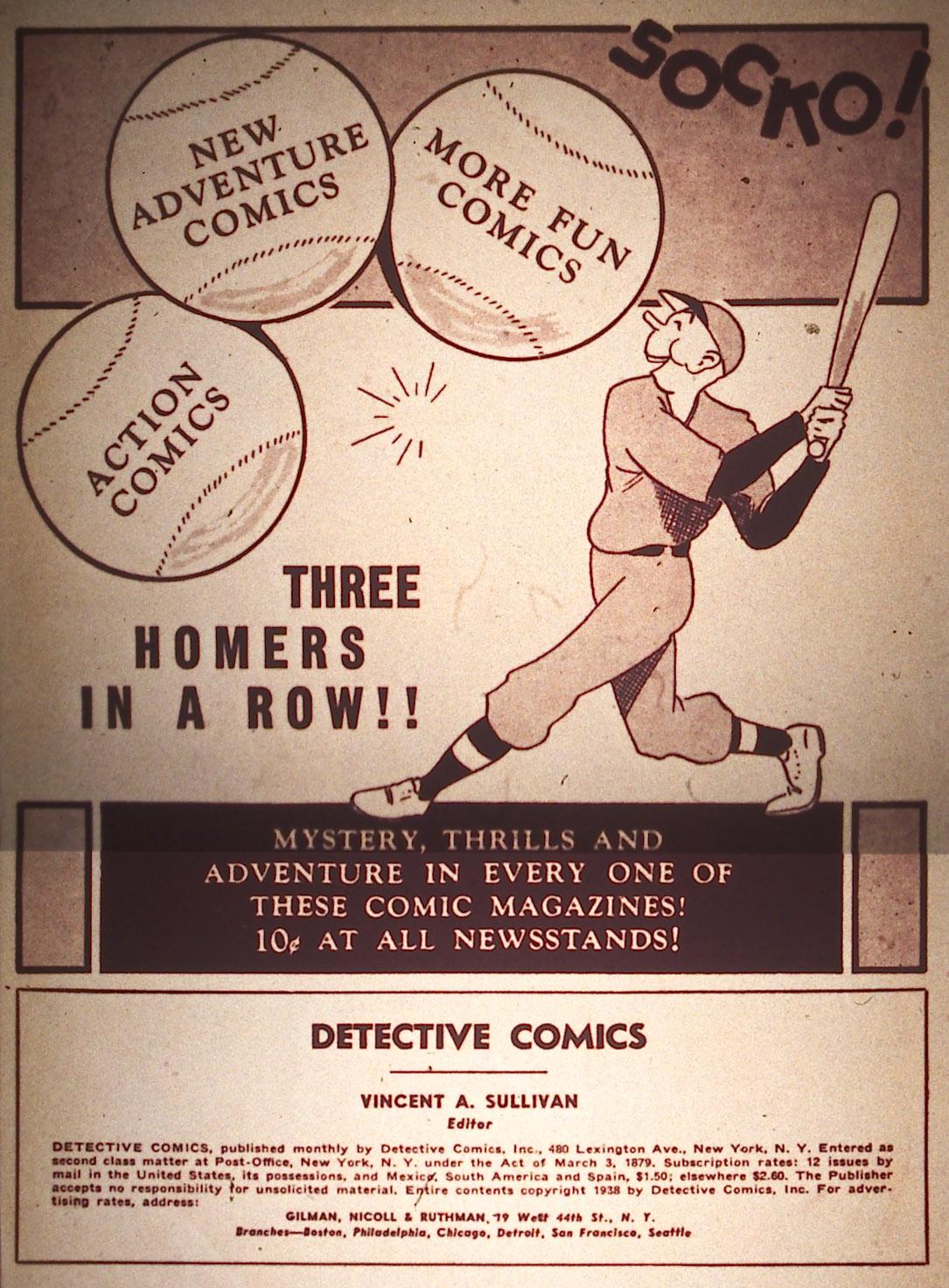 Read online Detective Comics (1937) comic -  Issue #18 - 2