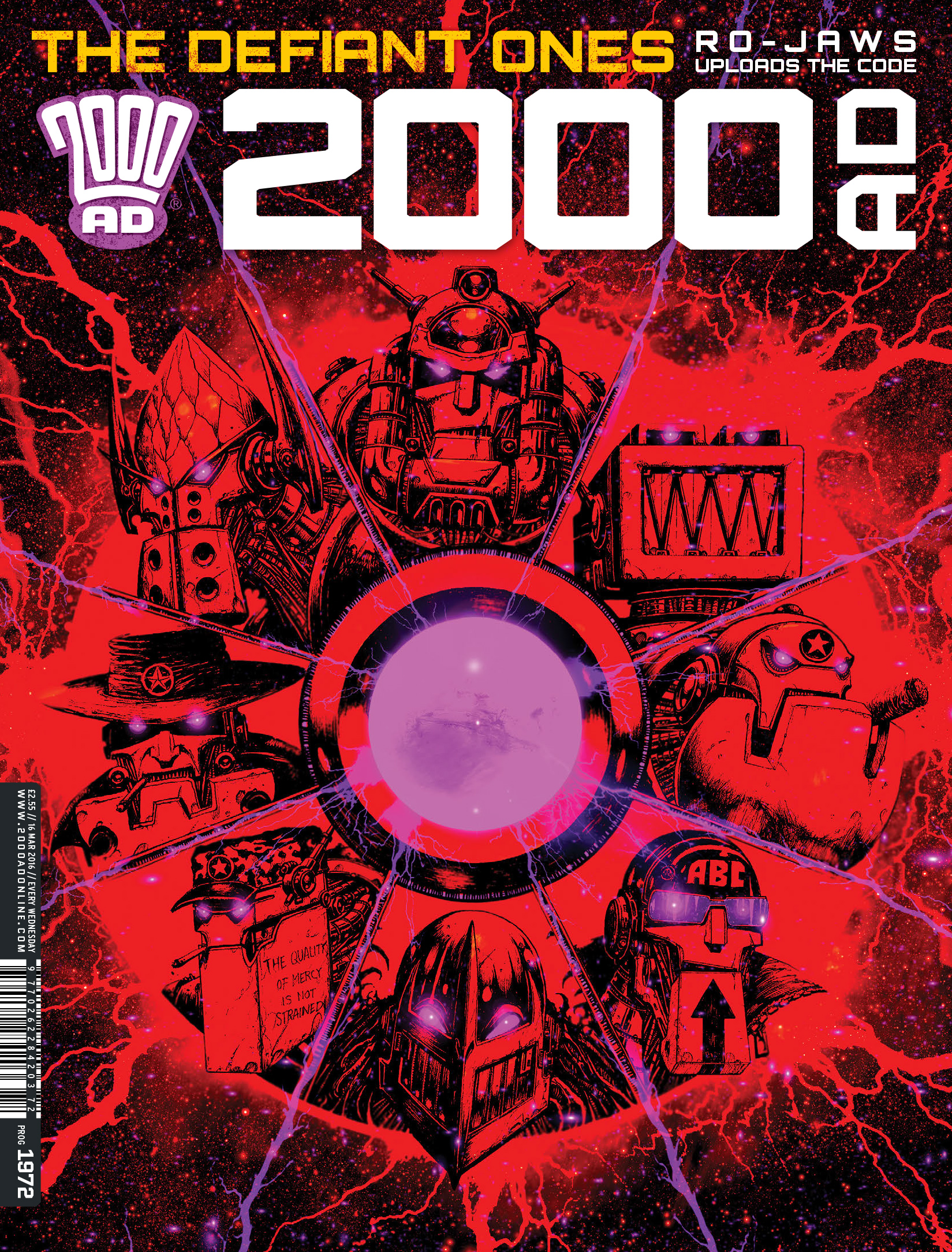 Read online 2000 AD comic -  Issue #1972 - 1