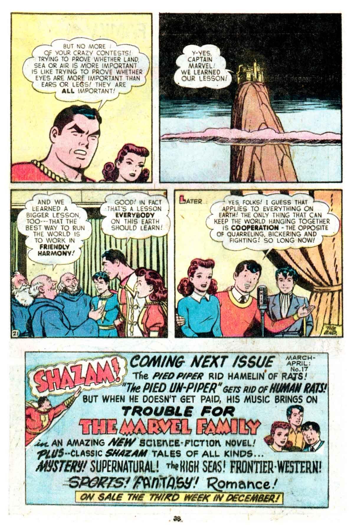 Read online Shazam! (1973) comic -  Issue #16 - 38