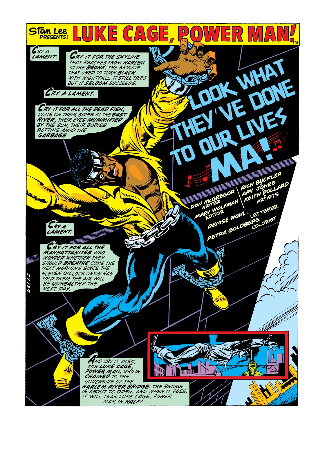Read online Marvel Masterworks: Luke Cage, Power Man comic -  Issue # TPB 2 (Part 3) - 59