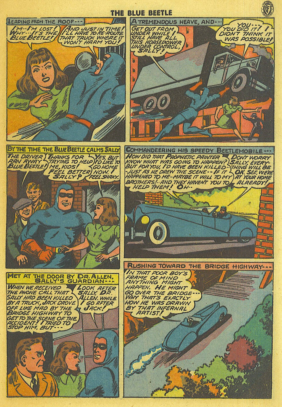 The Blue Beetle issue 35 - Page 6