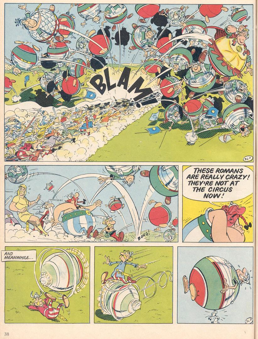 Read online Asterix comic -  Issue #25 - 35