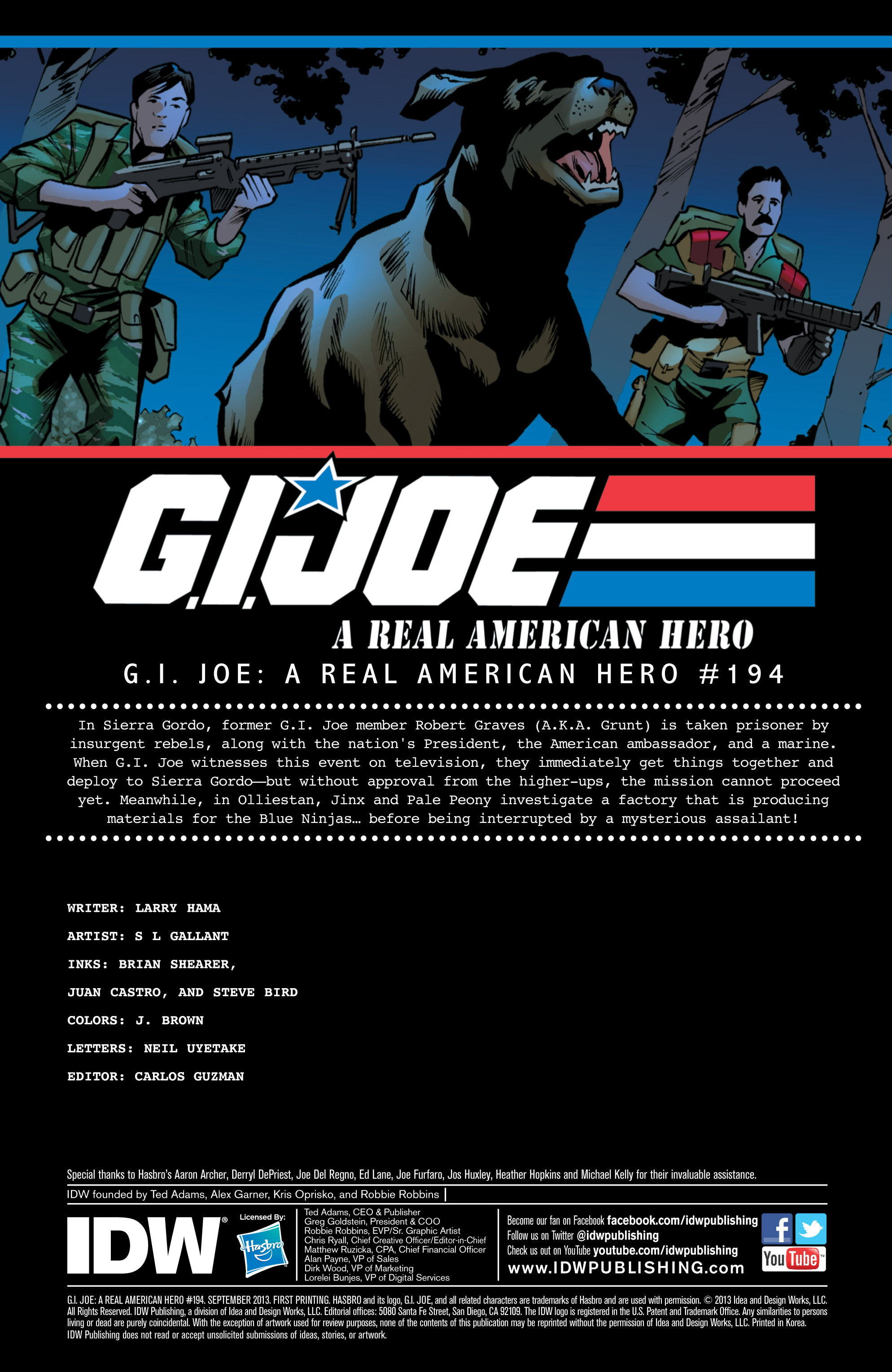 G.I. Joe: A Real American Hero 194 Page 2