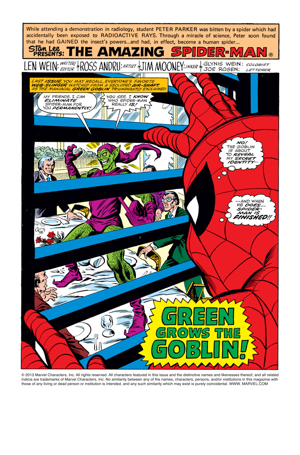 The Amazing Spider-Man (1963) 178 Page 1