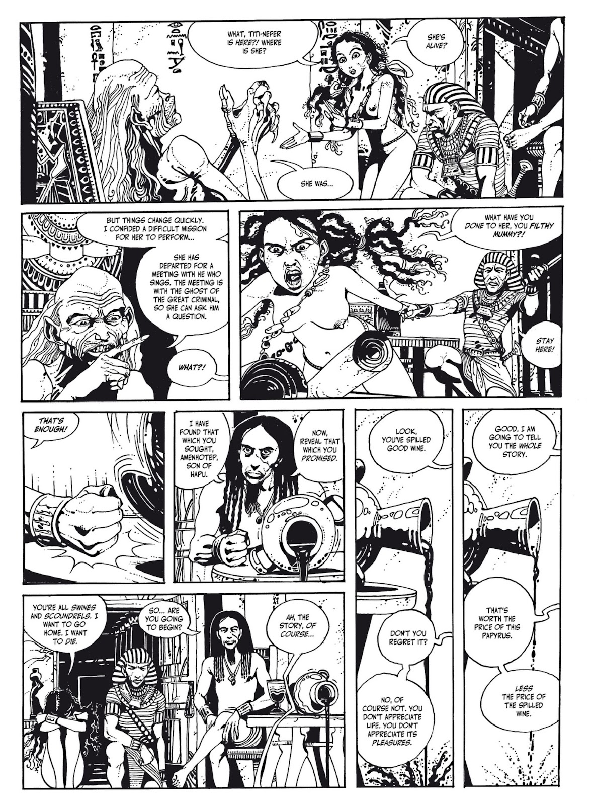 Read online The Egyptian Princesses comic -  Issue # TPB 1 (Part 1) - 60