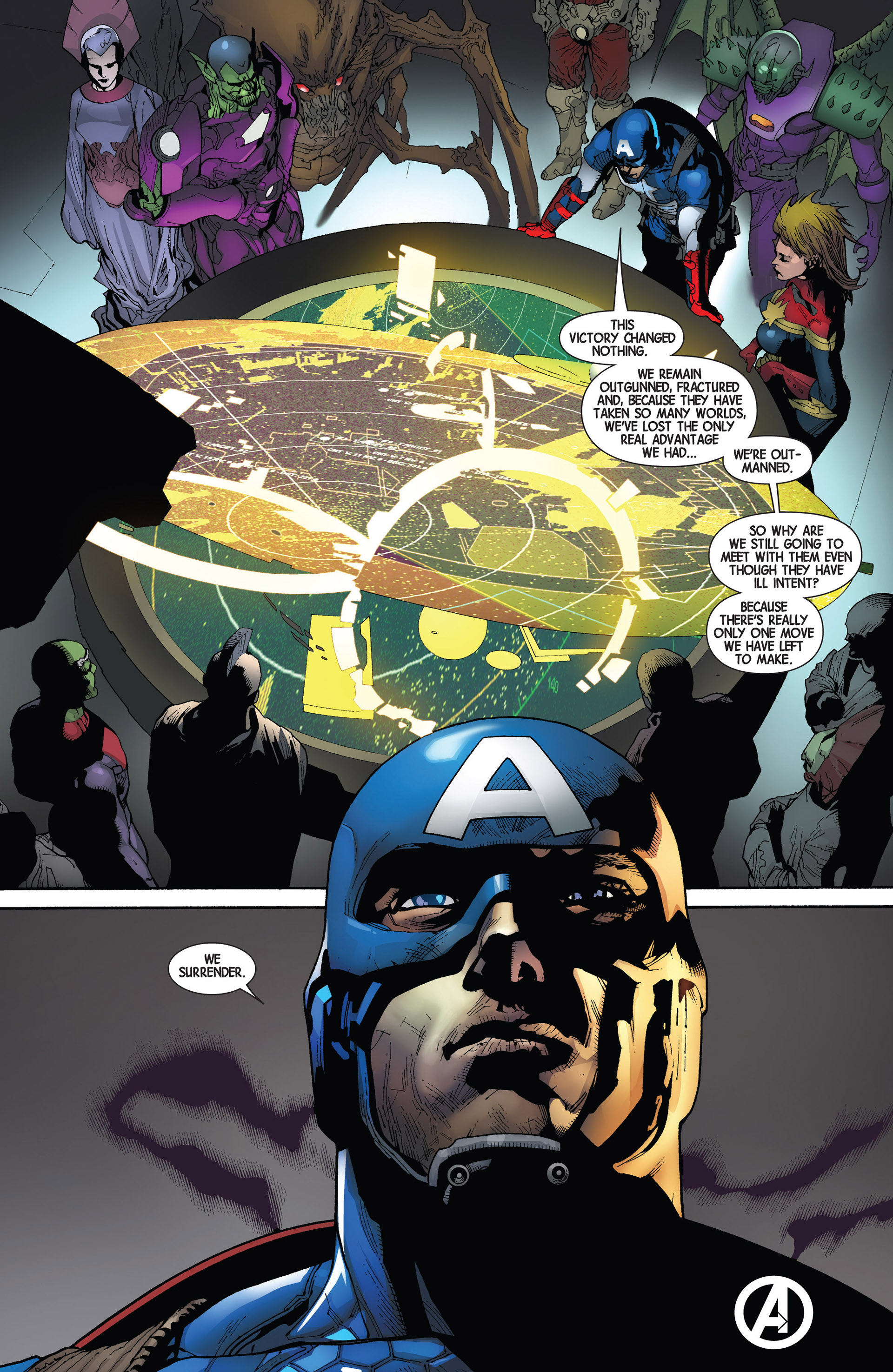 Read online Avengers (2013) comic -  Issue #20 - 28