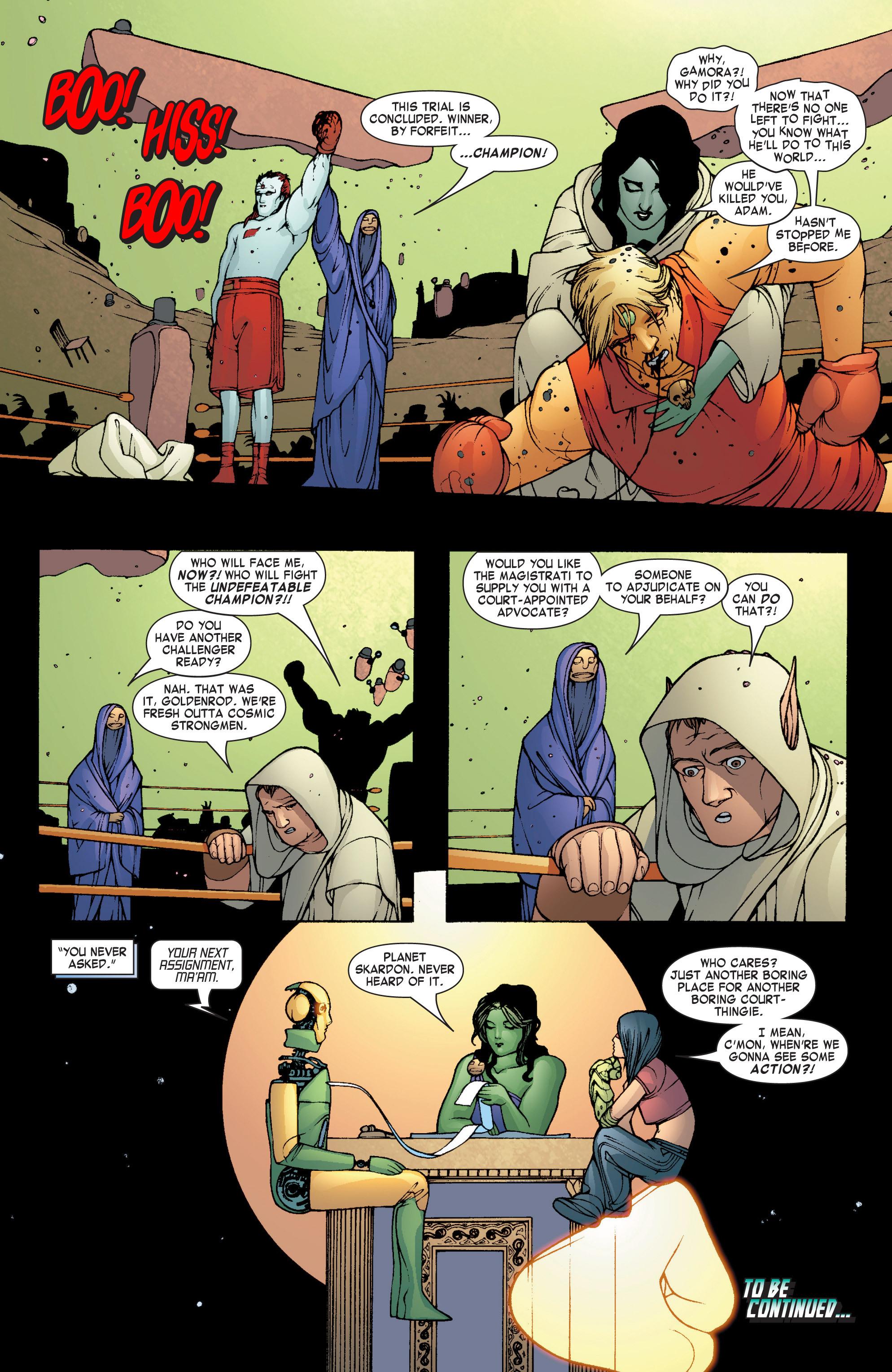 Read online She-Hulk (2004) comic -  Issue #7 - 23